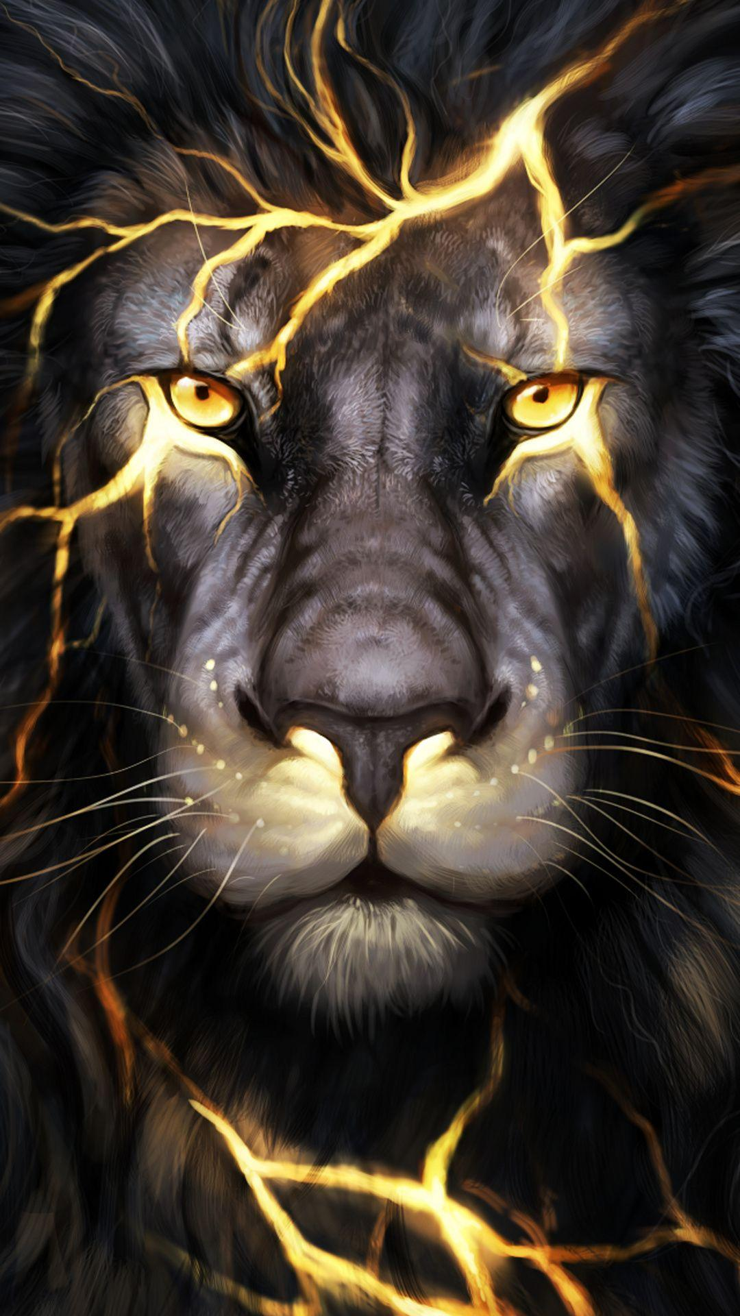 Lion 3d Mobile Wallpapers Wallpaper Cave