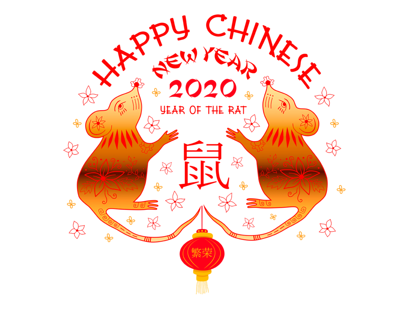 Happy Chinese New Year by Bariss Studio on Dribbble