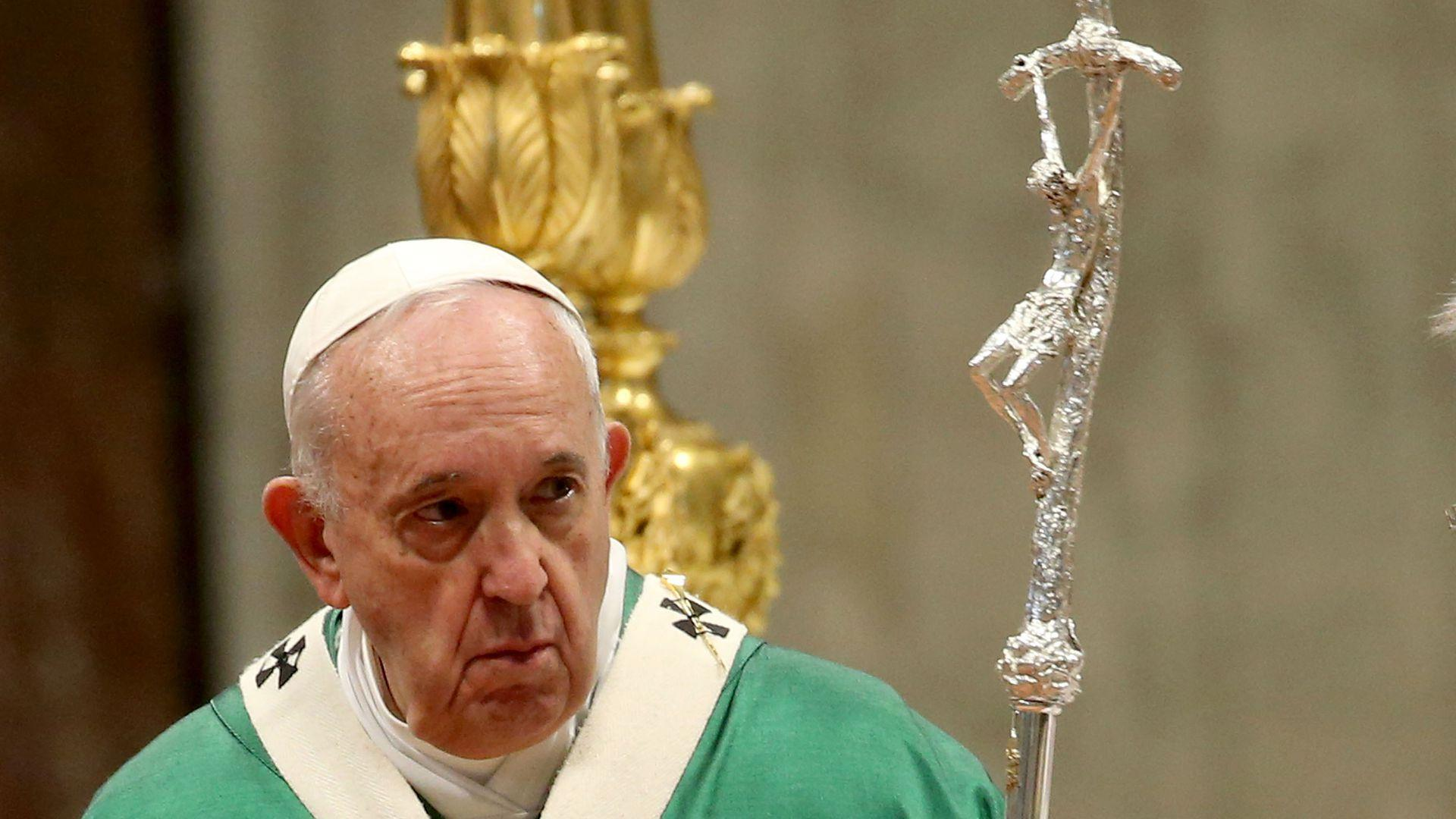 Pope opens debate on allowing married Catholic priests in