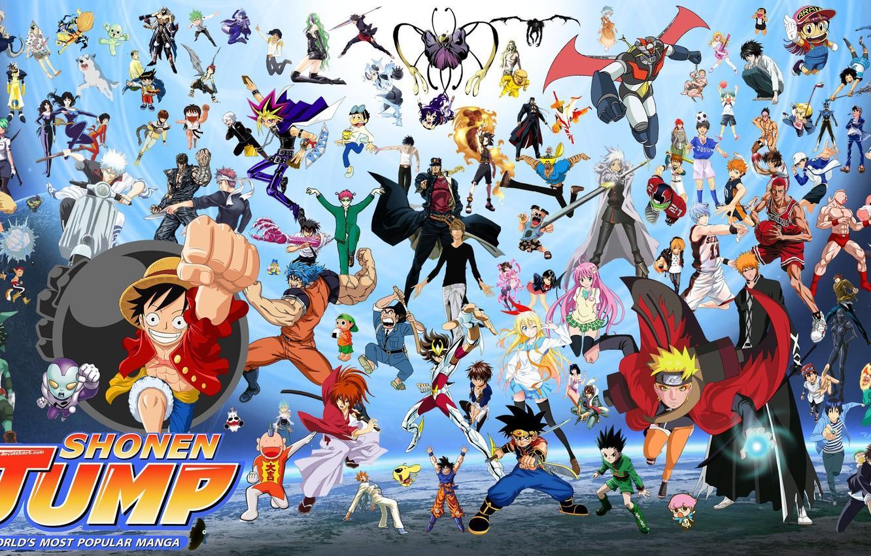 Anime Dragon Ball Naruto One Piece Wallpapers Wallpaper Cave