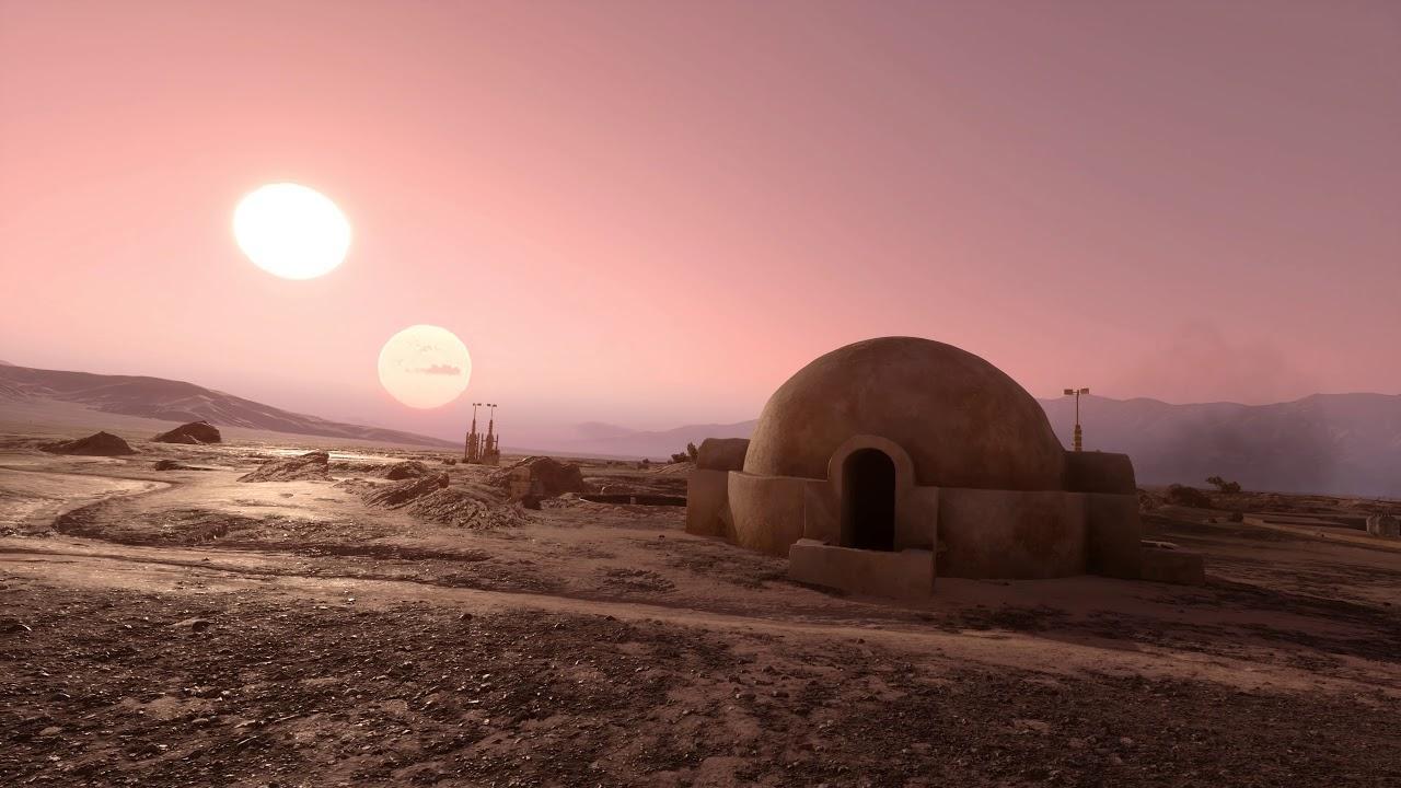 Tatooine Desktop Wallpapers Wallpaper Cave