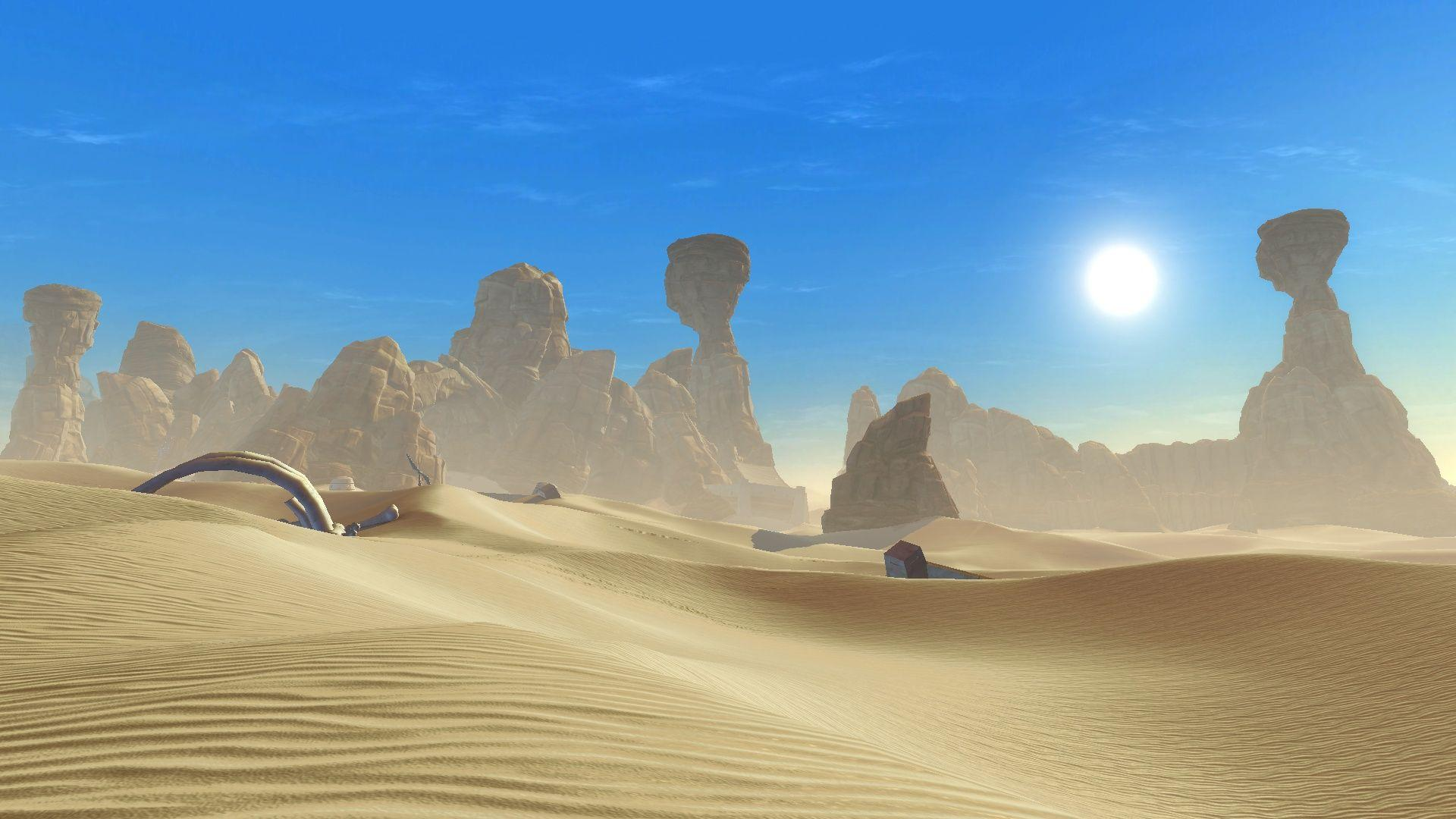 Star Wars Tatooine Desktop Wallpapers Wallpaper Cave