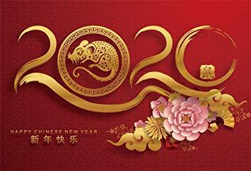 Amazon : Yeele Happy Chinese New Year 2020 Photography ...