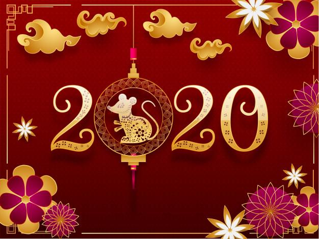 Happy Chinese New Year Image 2020