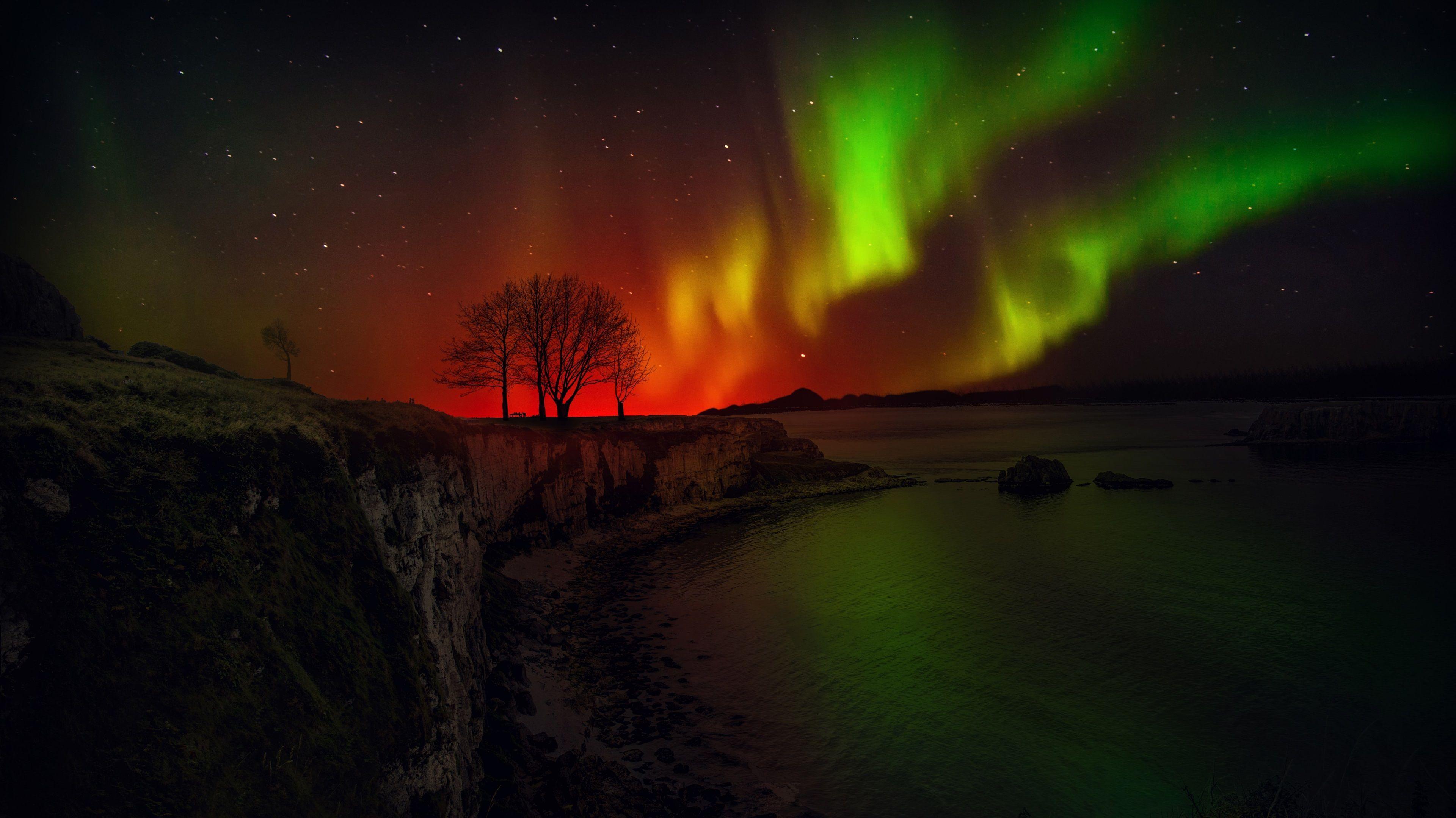 Desktop Aurora Borealis Wallpapers - Wallpaper Cave