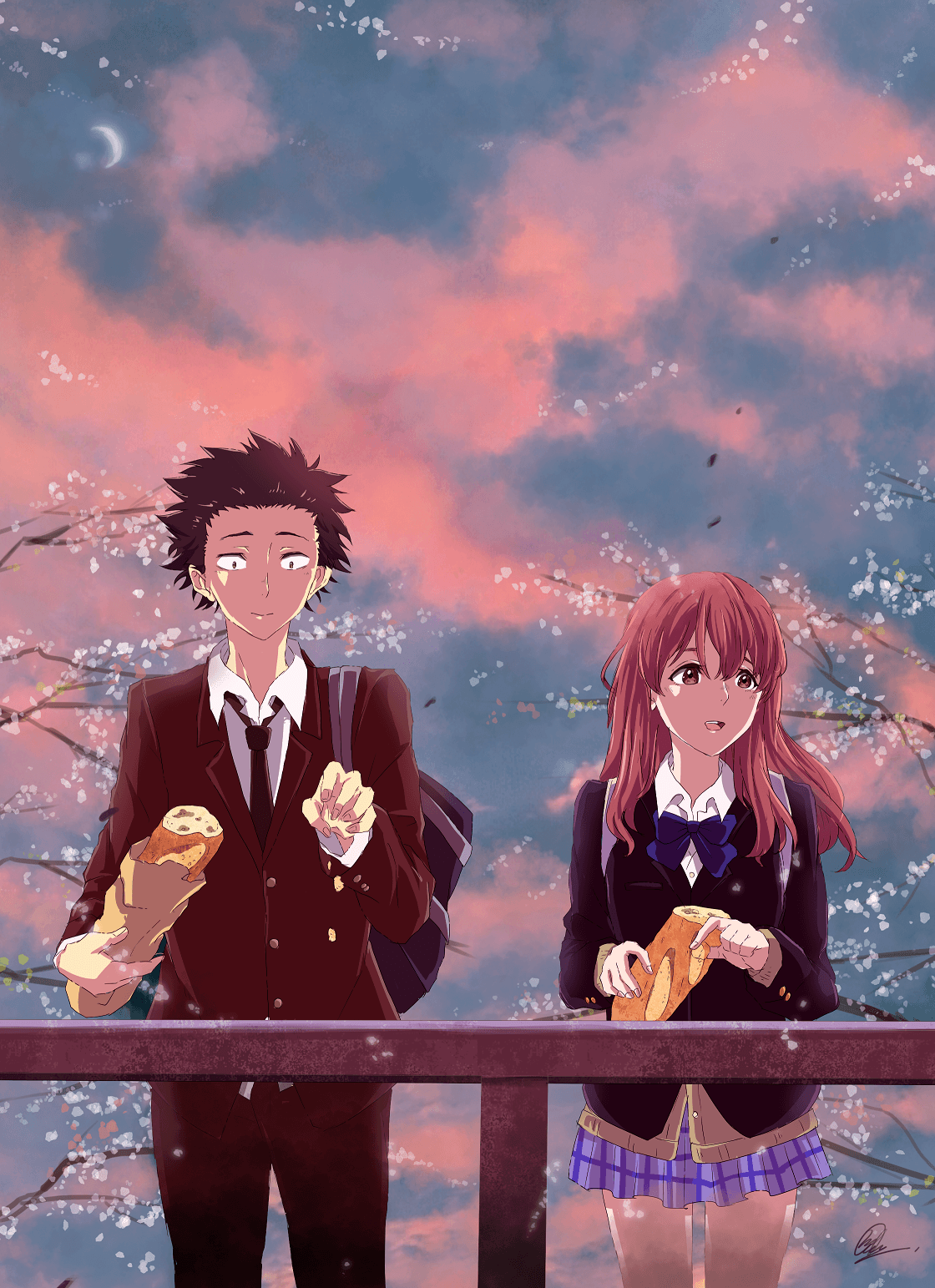 A Silent Voice Movie Wallpapers - Wallpaper Cave
