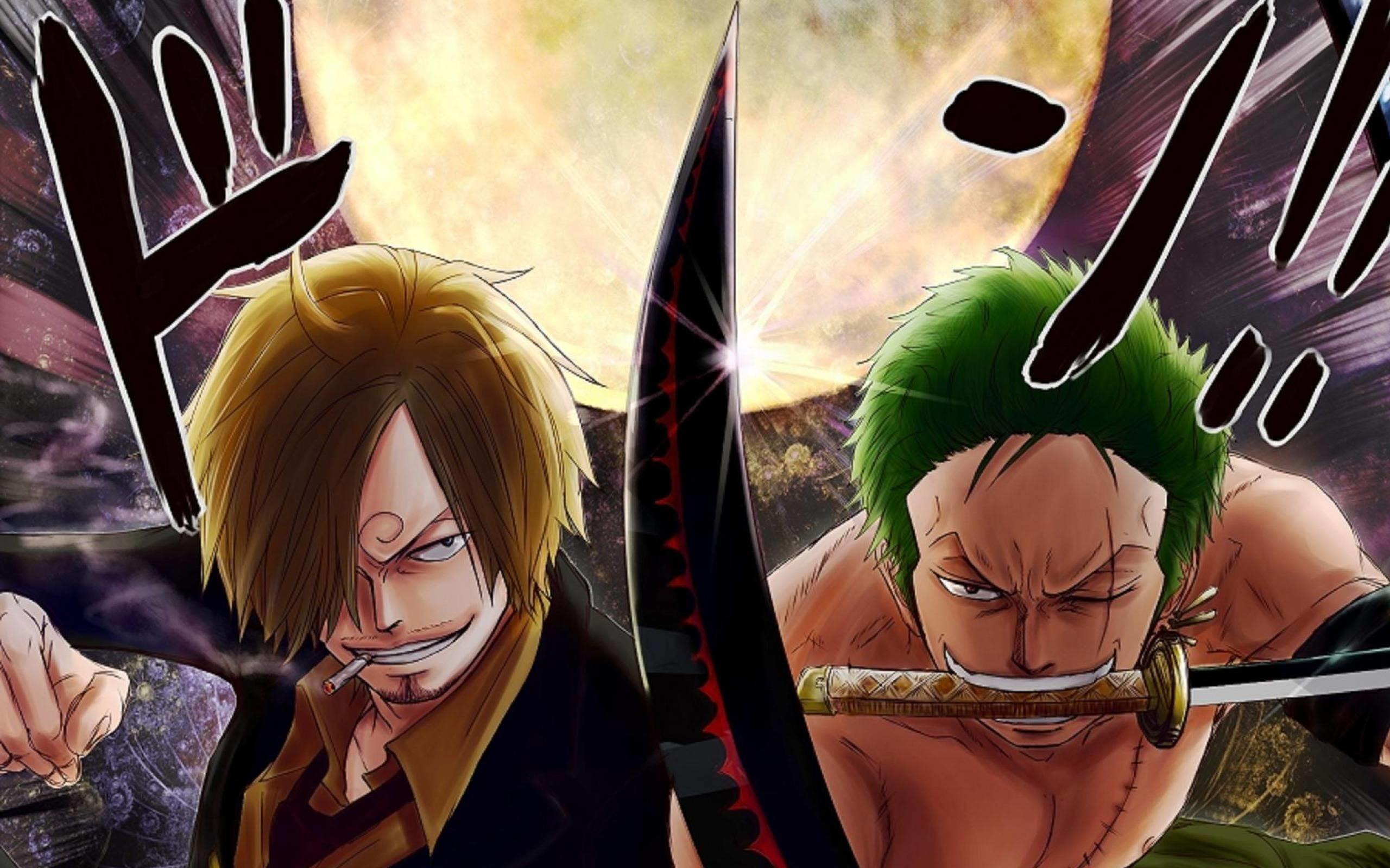 Luffy X Zoro Wallpapers Wallpaper Cave