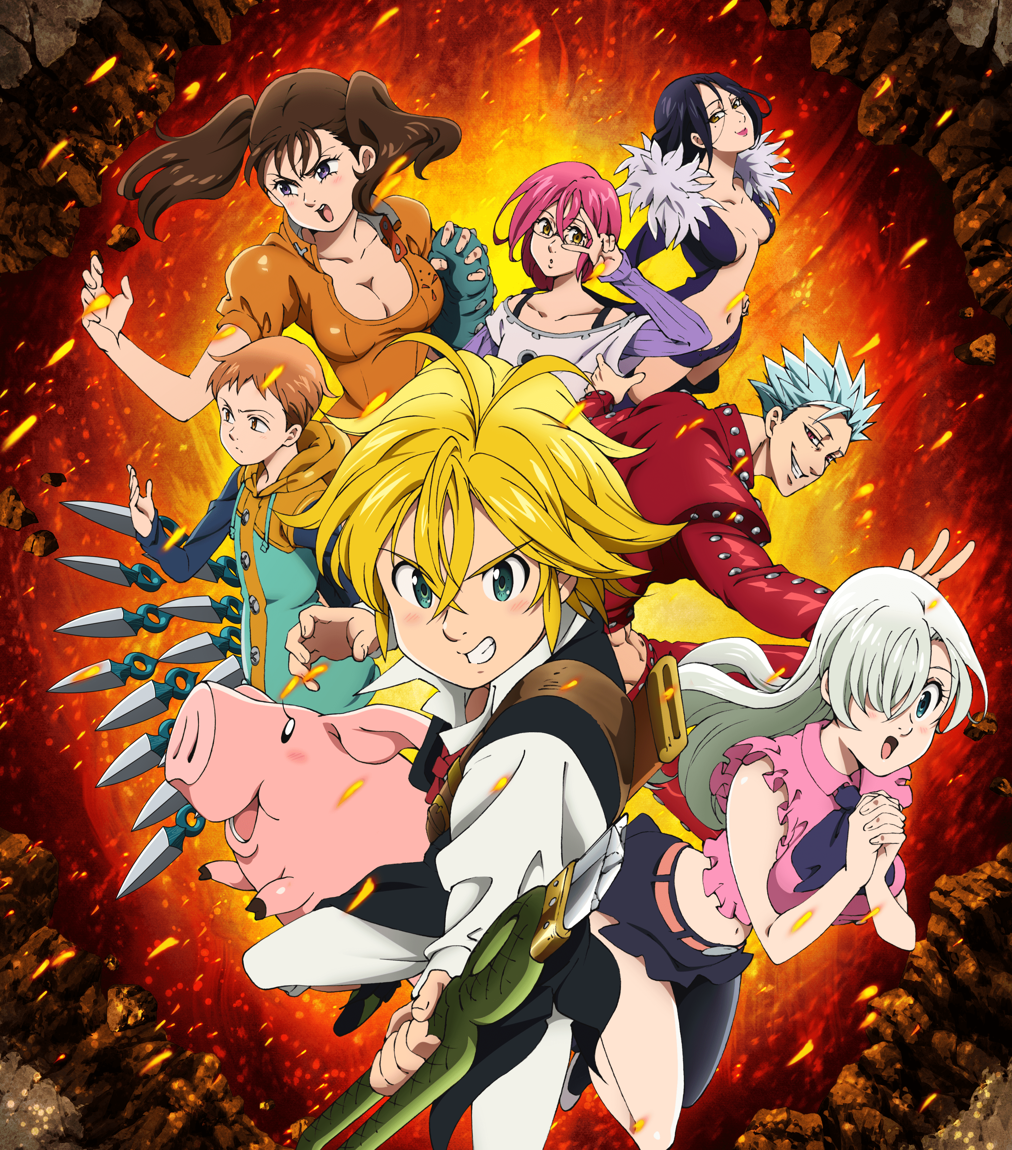 The Seven Deadly Sins: Knights of Britannia coming to SEA in