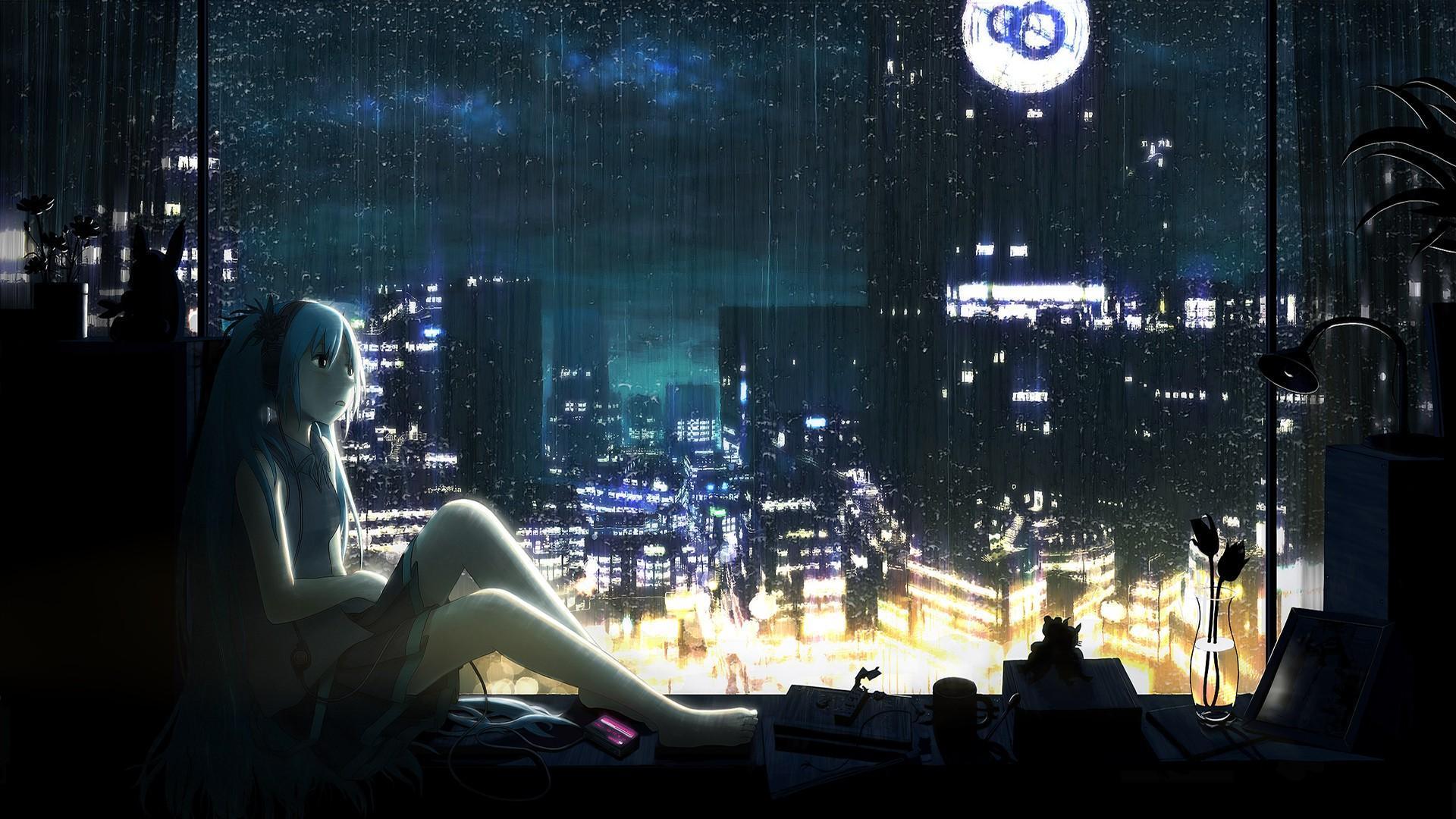 Rain Anime Wallpapers - Wallpaper Cave