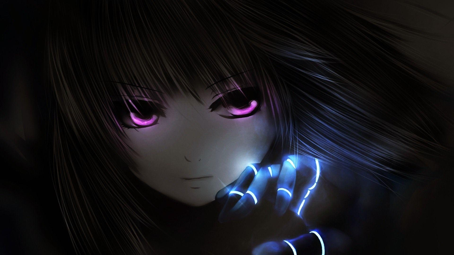 Dark Anime Girl Hd Wallpapers Wallpaper Cave