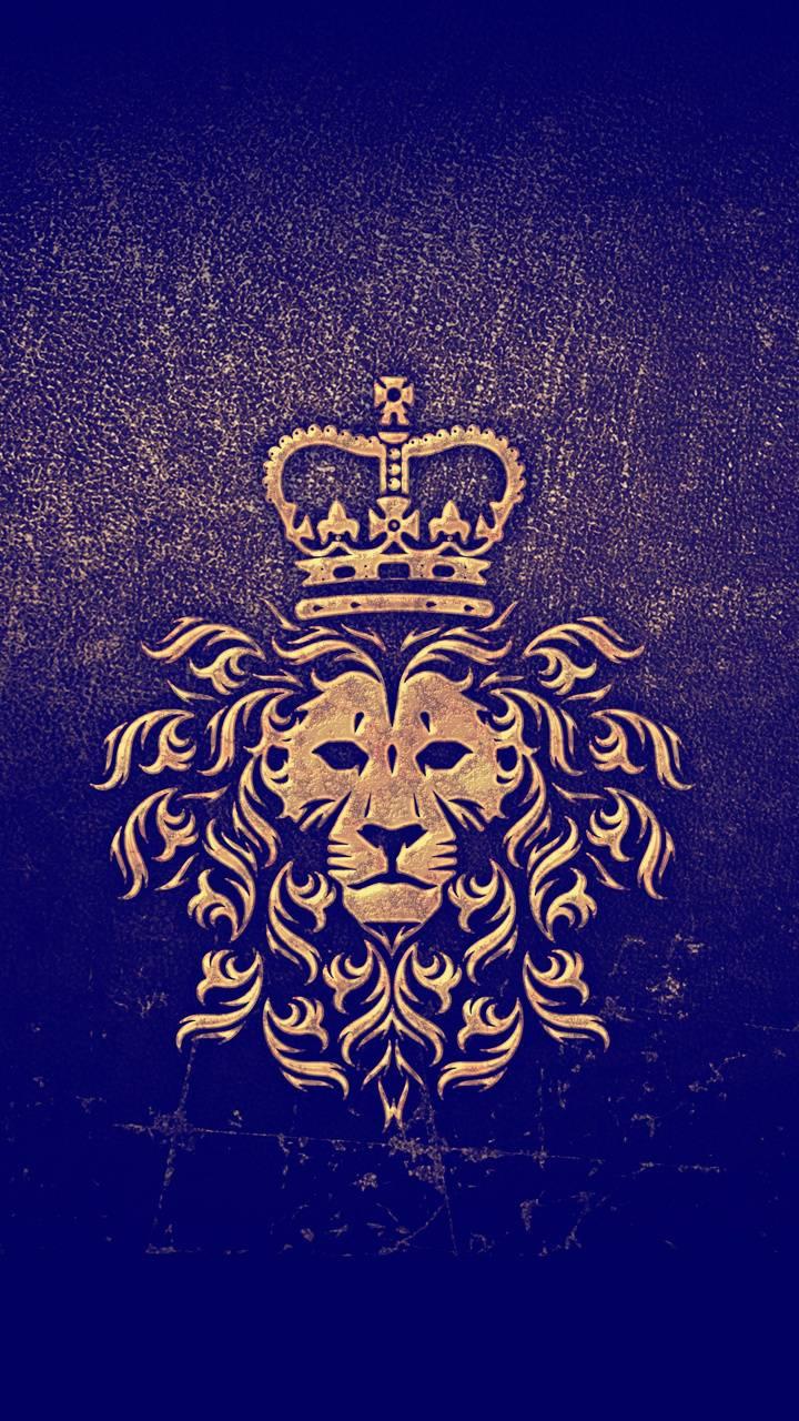 Lion Crown Iphone Wallpaper