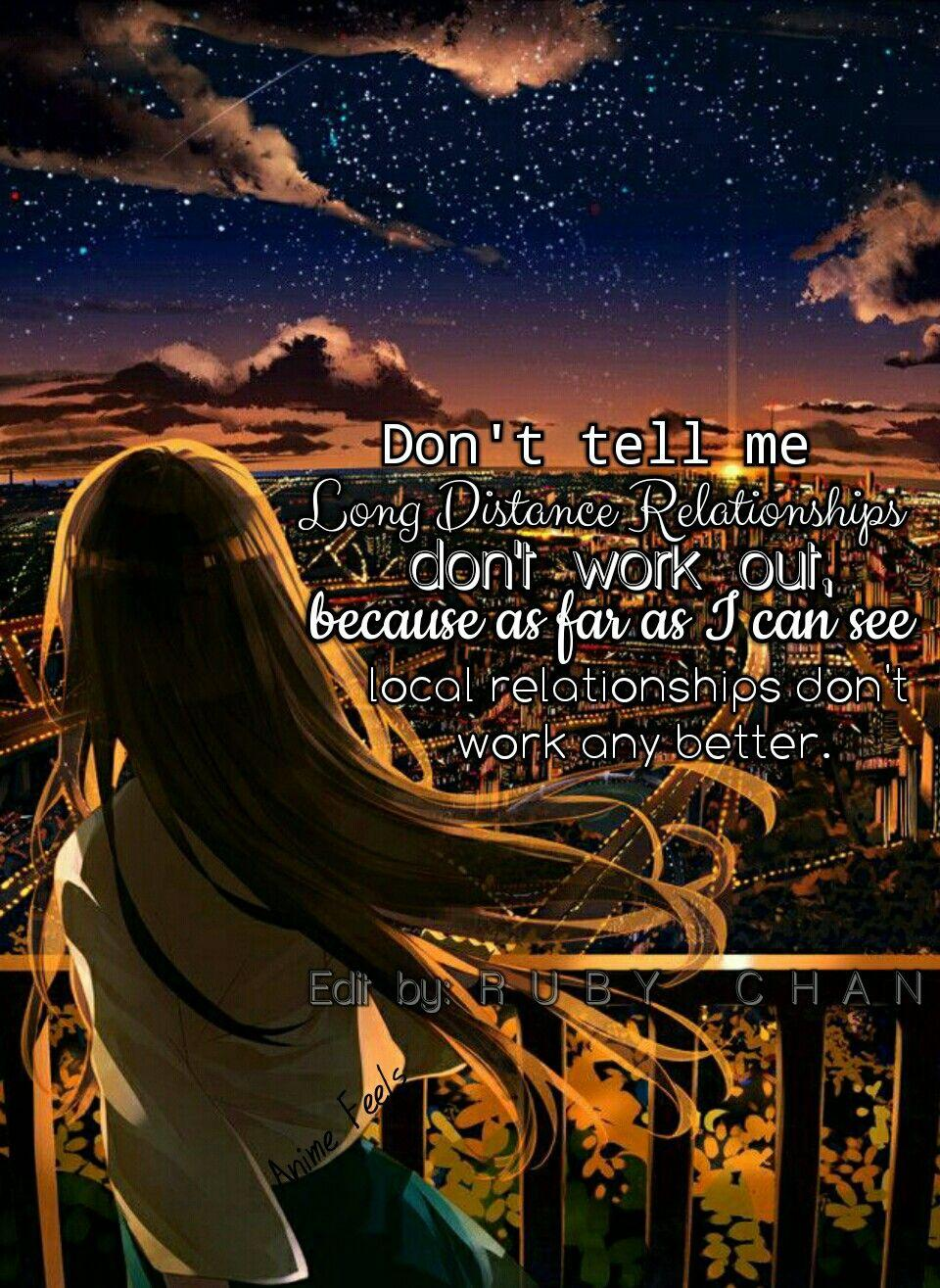 Anime Sad Love Relationship Wallpapers Wallpaper Cave