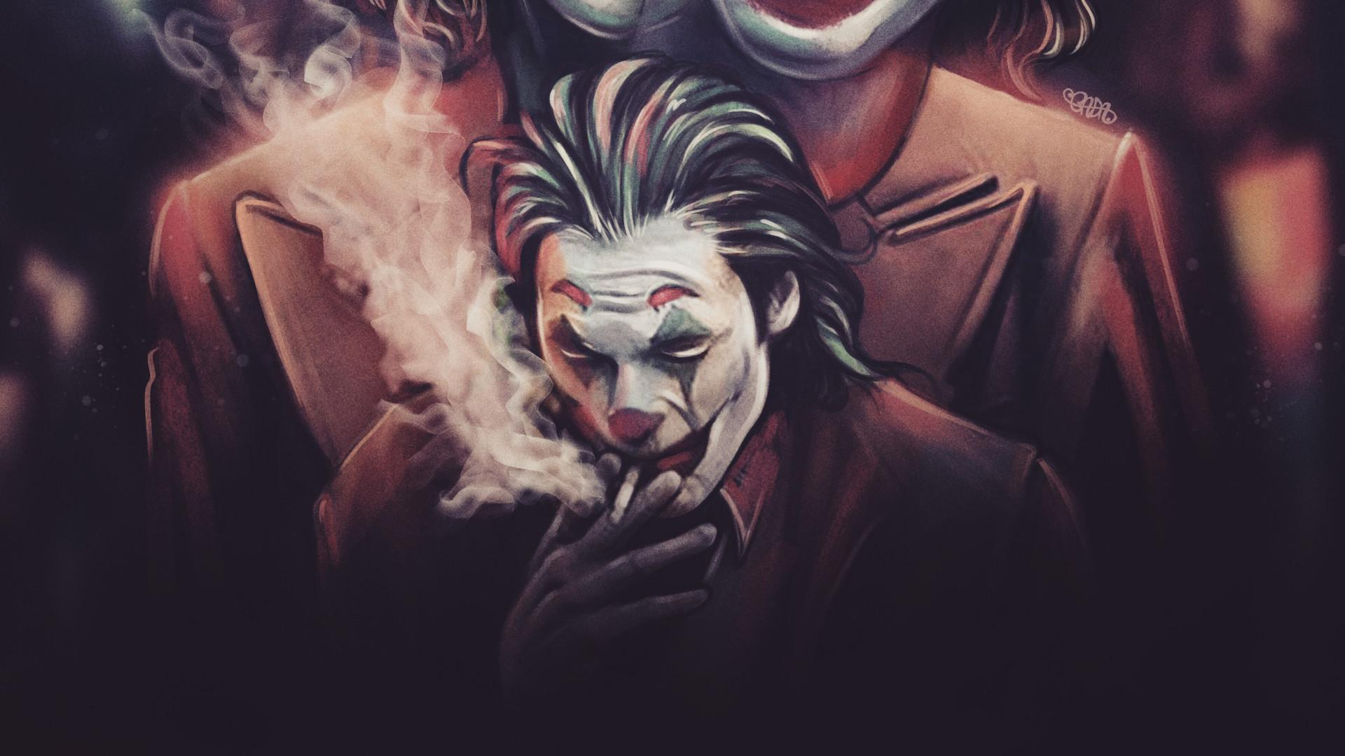Joker Smoke Wallpapers - Wallpaper Cave