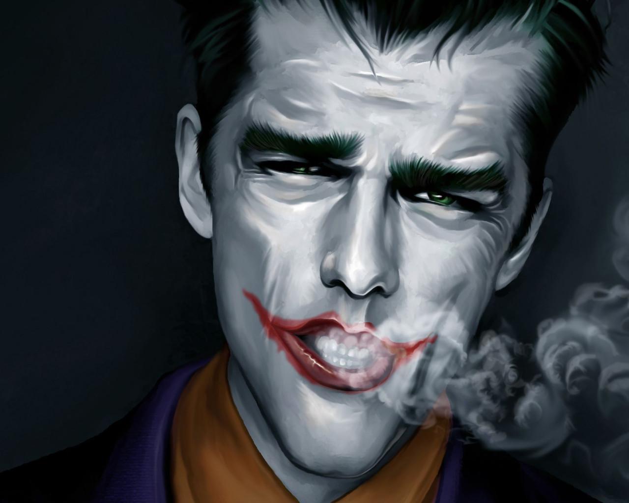 Joker Smoking Wallpapers - Wallpaper Cave