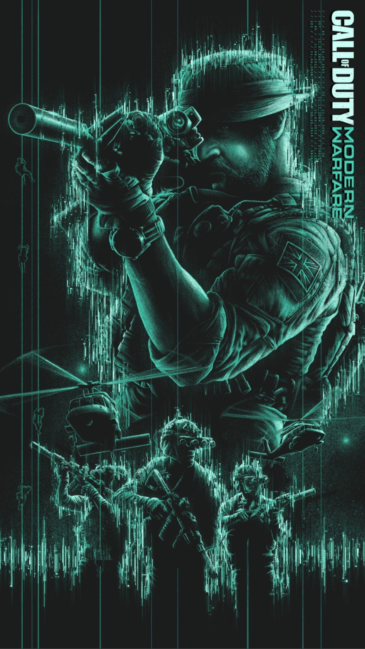 Call Of Duty Modern Warfare 2019 Ghost Wallpapers ...
