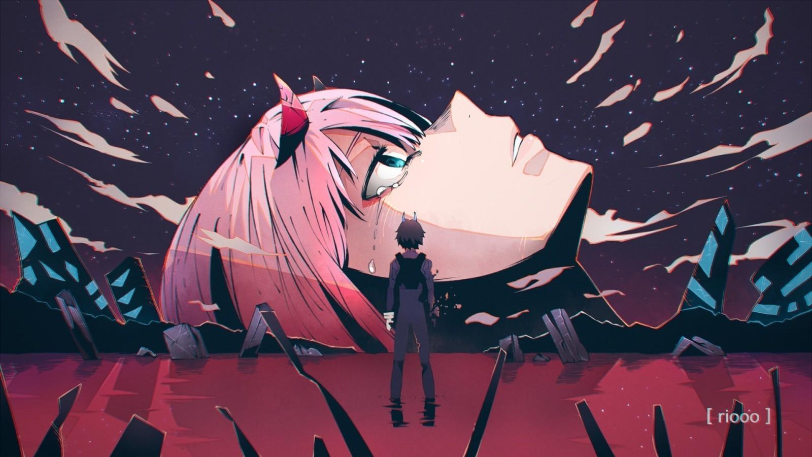 sad anime aesthetic ps4 wallpapers