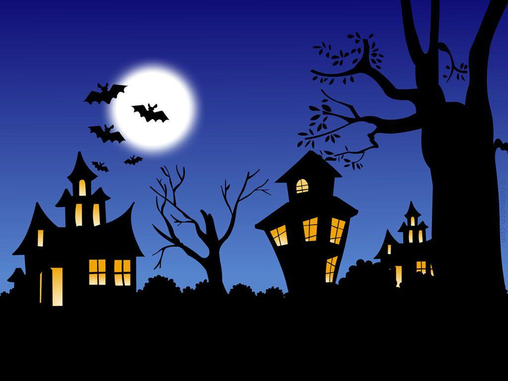 Spooky House Cartoon Wallpapers Wallpaper Cave