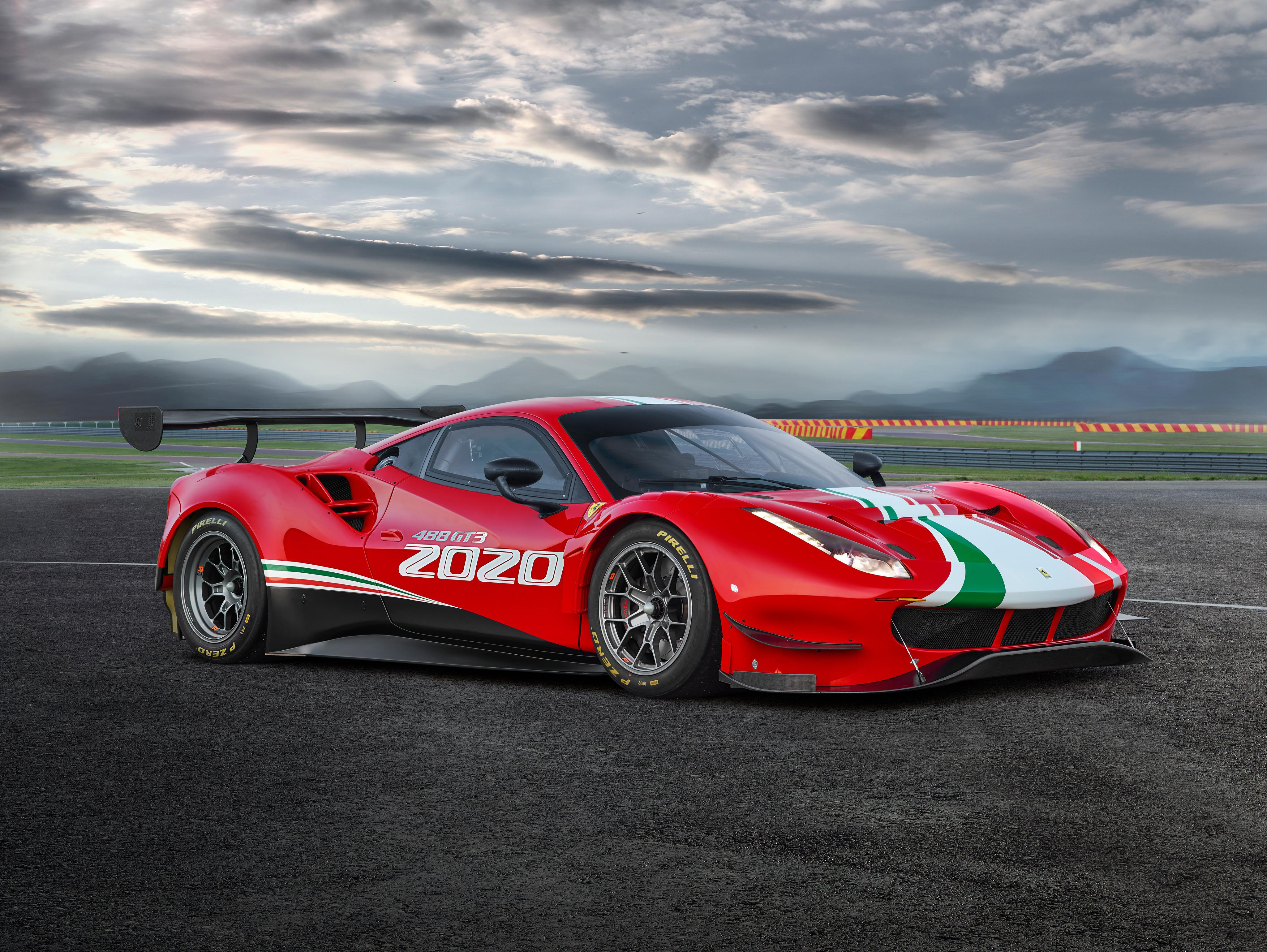 Ferrari 488 Challenge Evo Race Car Wallpapers - Wallpaper Cave