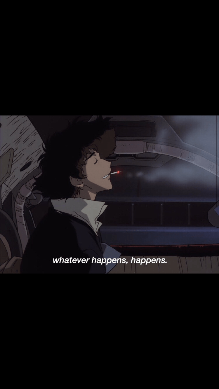 Cowboy Bebop anime wallpapers BLACK// follow for more❤️