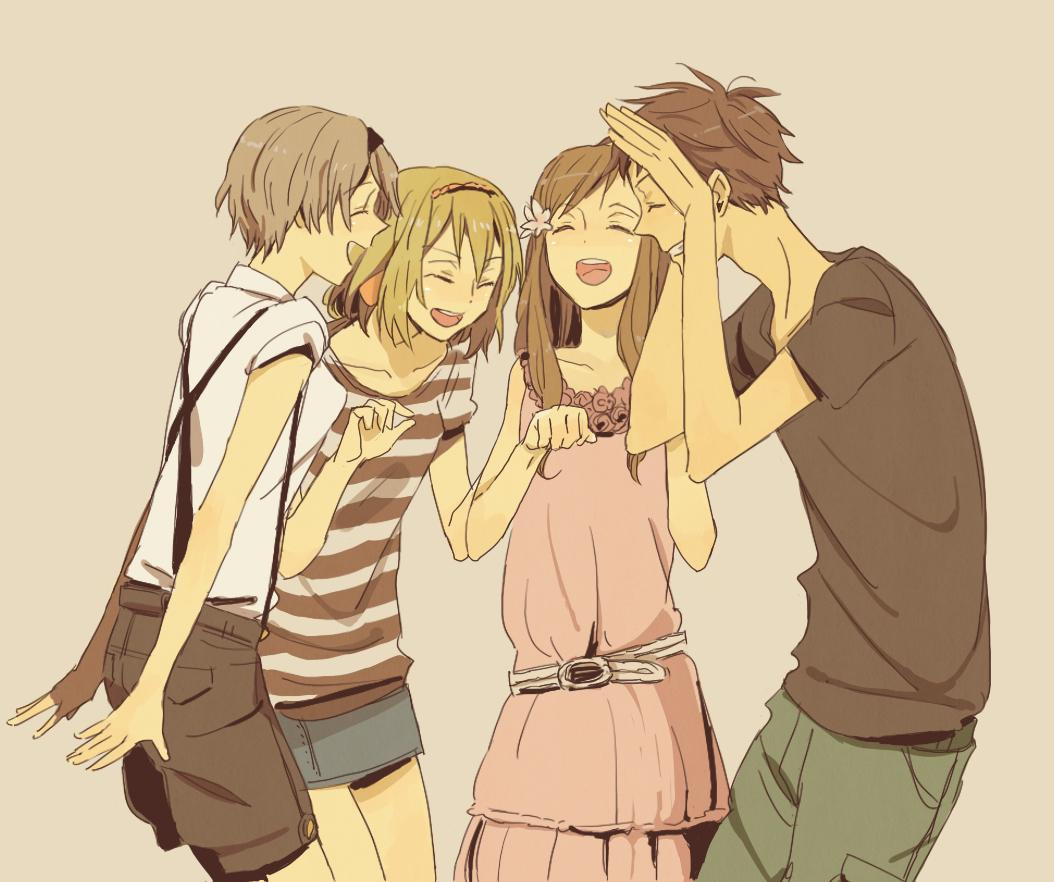 Anime Best Friends Boy And Girl Wallpapers Wallpaper Cave