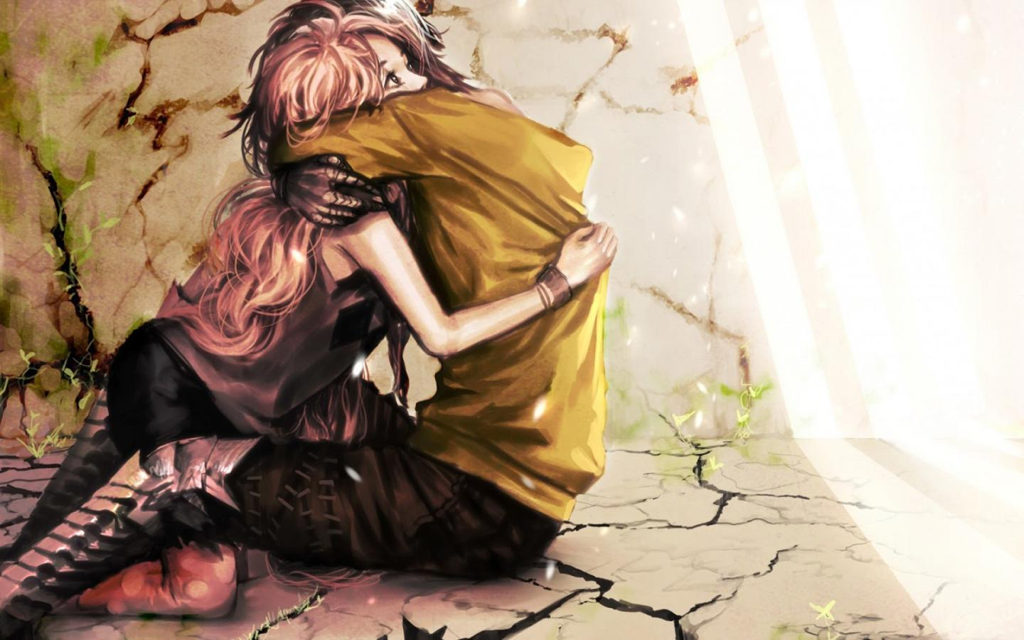 Boy And Girl Anime Cute Wallpapers Wallpaper Cave