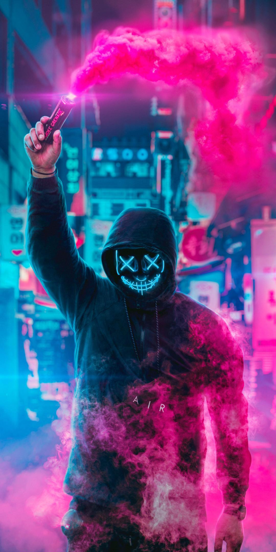 Joker Neon Wallpapers Wallpaper Cave