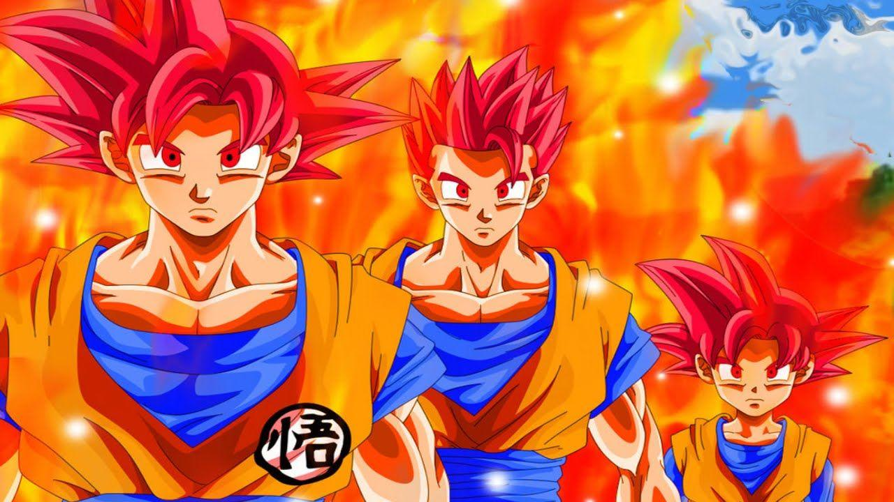 Super Saiyan Blue Goten Wallpapers Wallpaper Cave