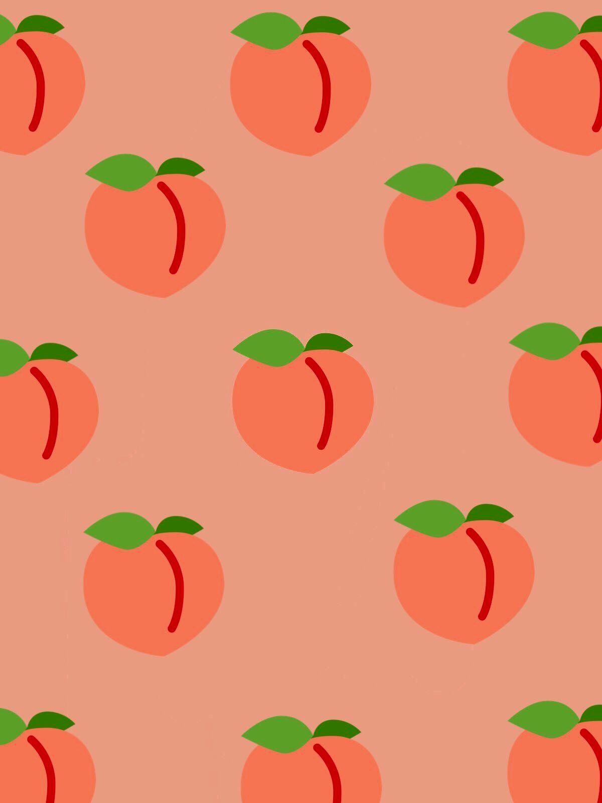 Peach Aesthetic Wallpapers - Wallpaper Cave