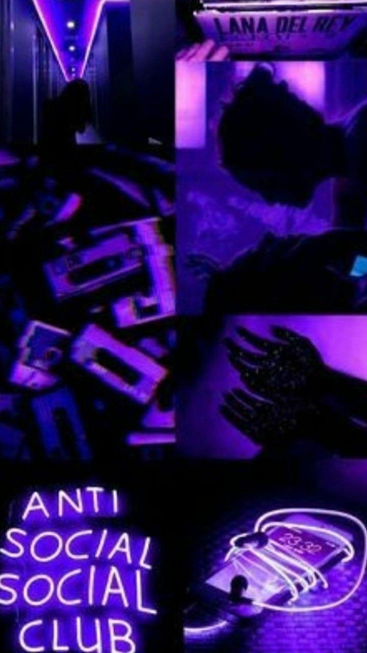 Neon Purple Aesthetic Wallpapers Wallpaper Cave