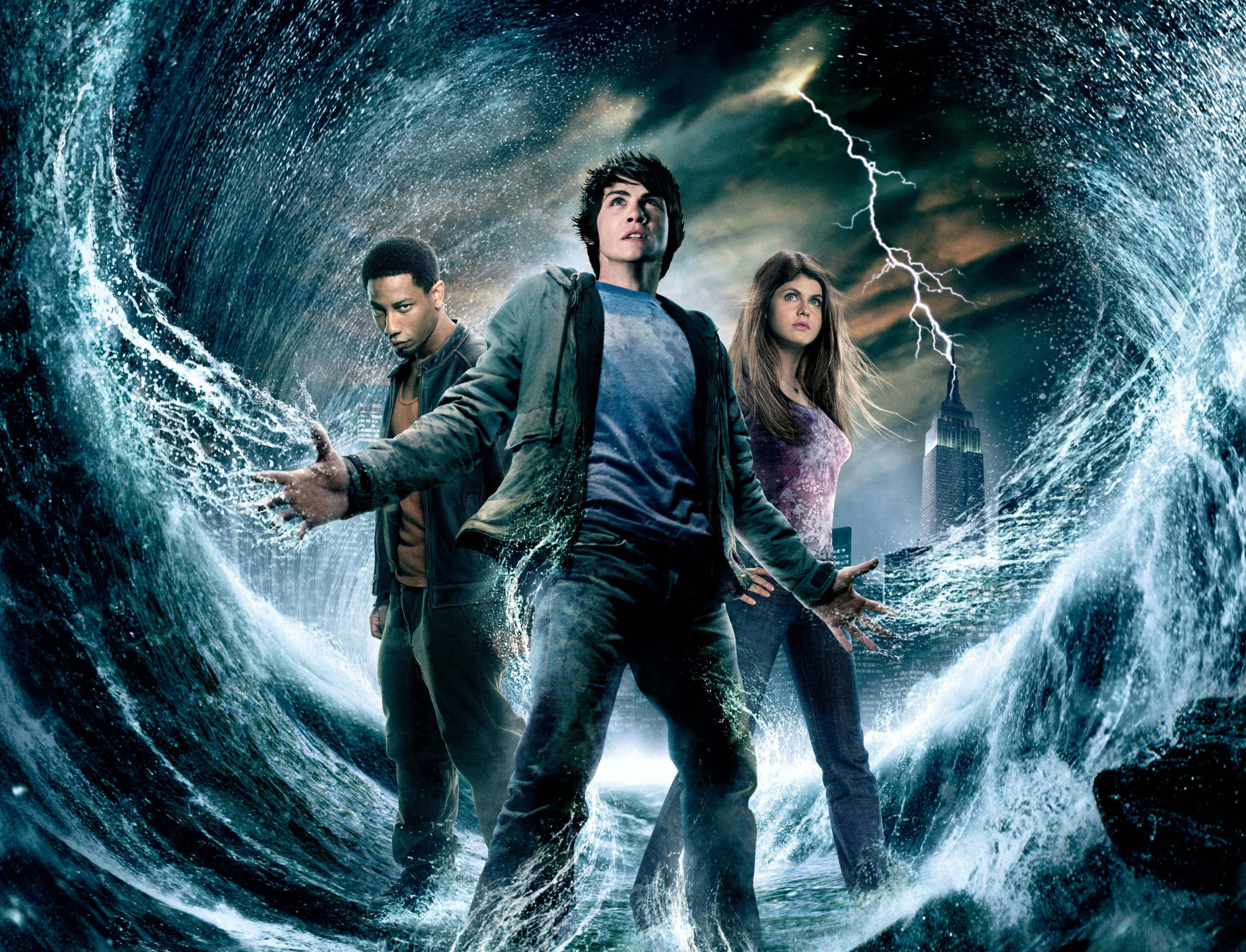 Percy Jackson The Olympians The Lightning Thief Wallpapers Wallpaper Cave