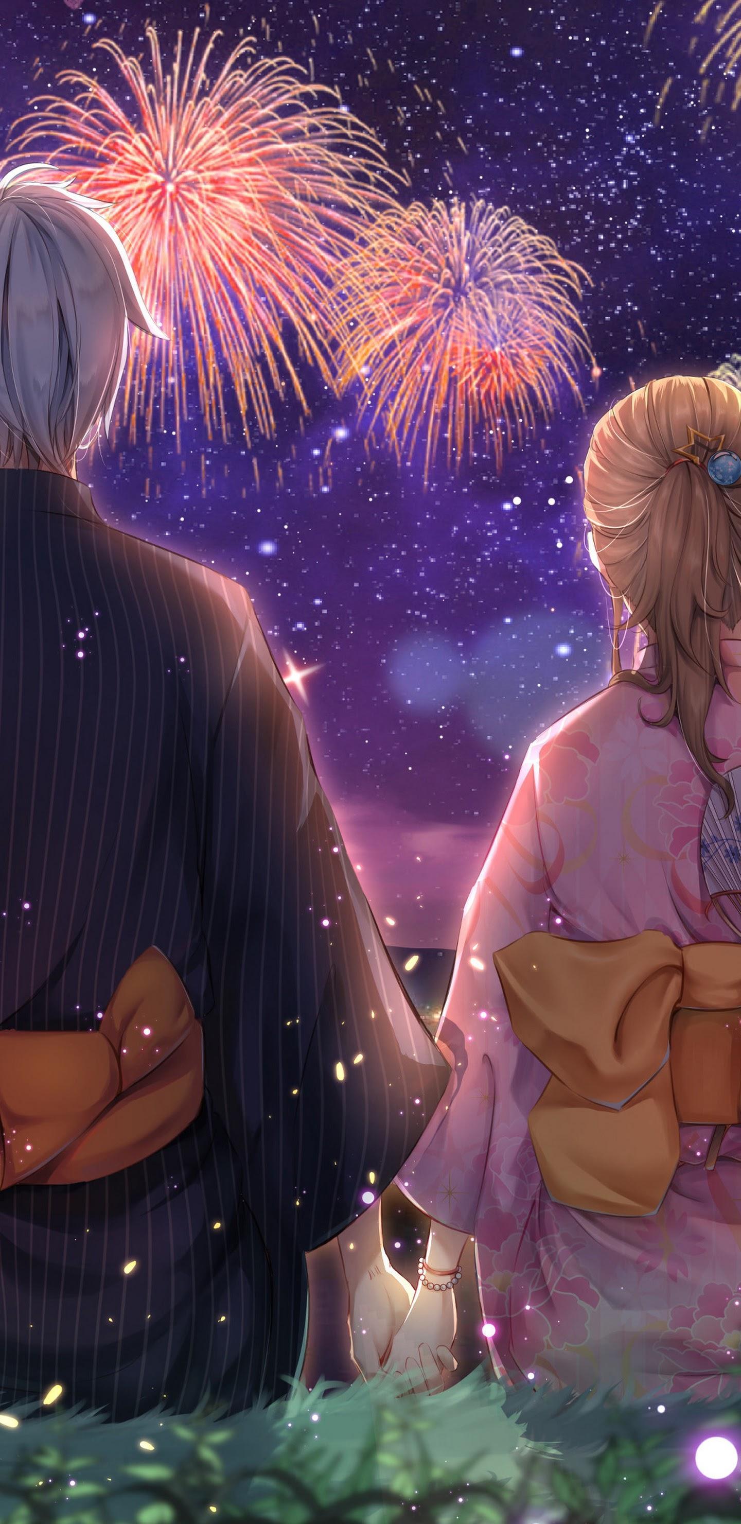Anime Firework 4K Wallpapers - Wallpaper Cave