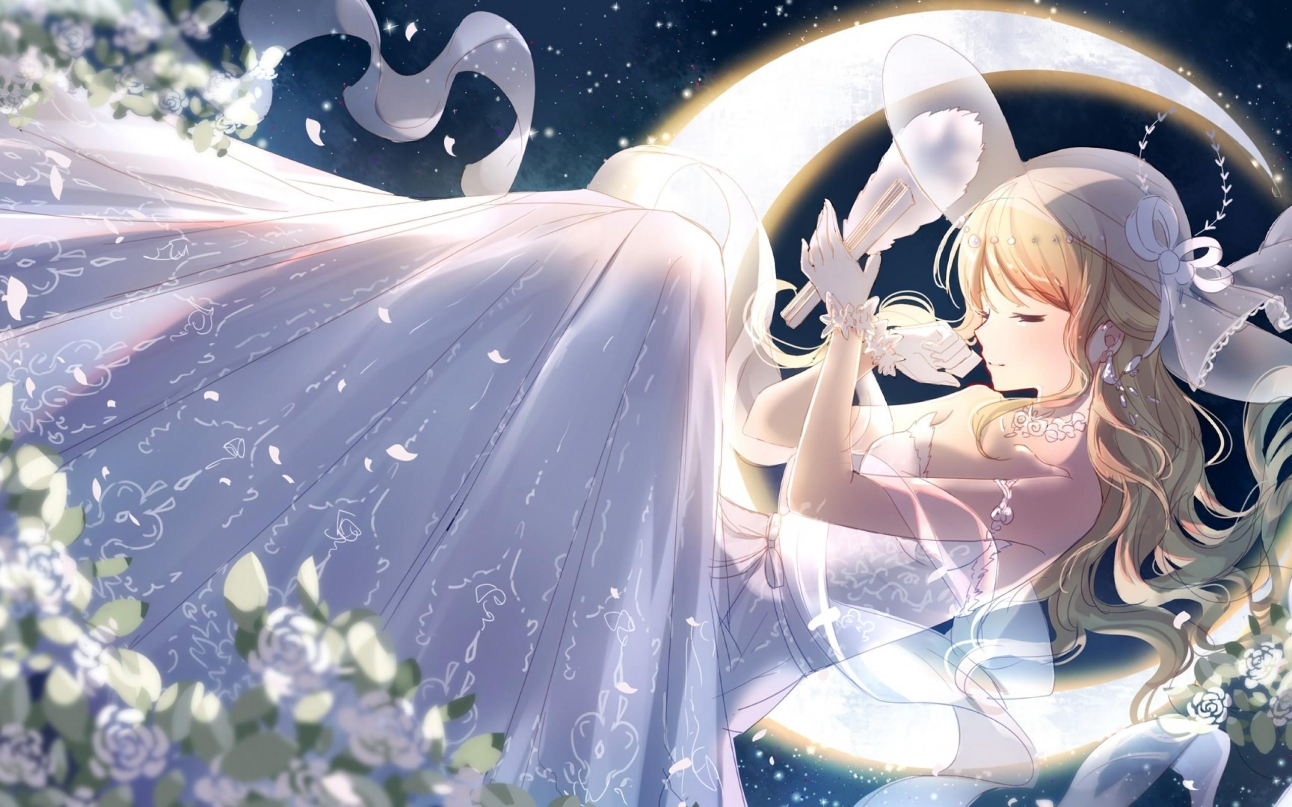 Anime Girl Wedding Wallpapers - Wallpaper Cave
