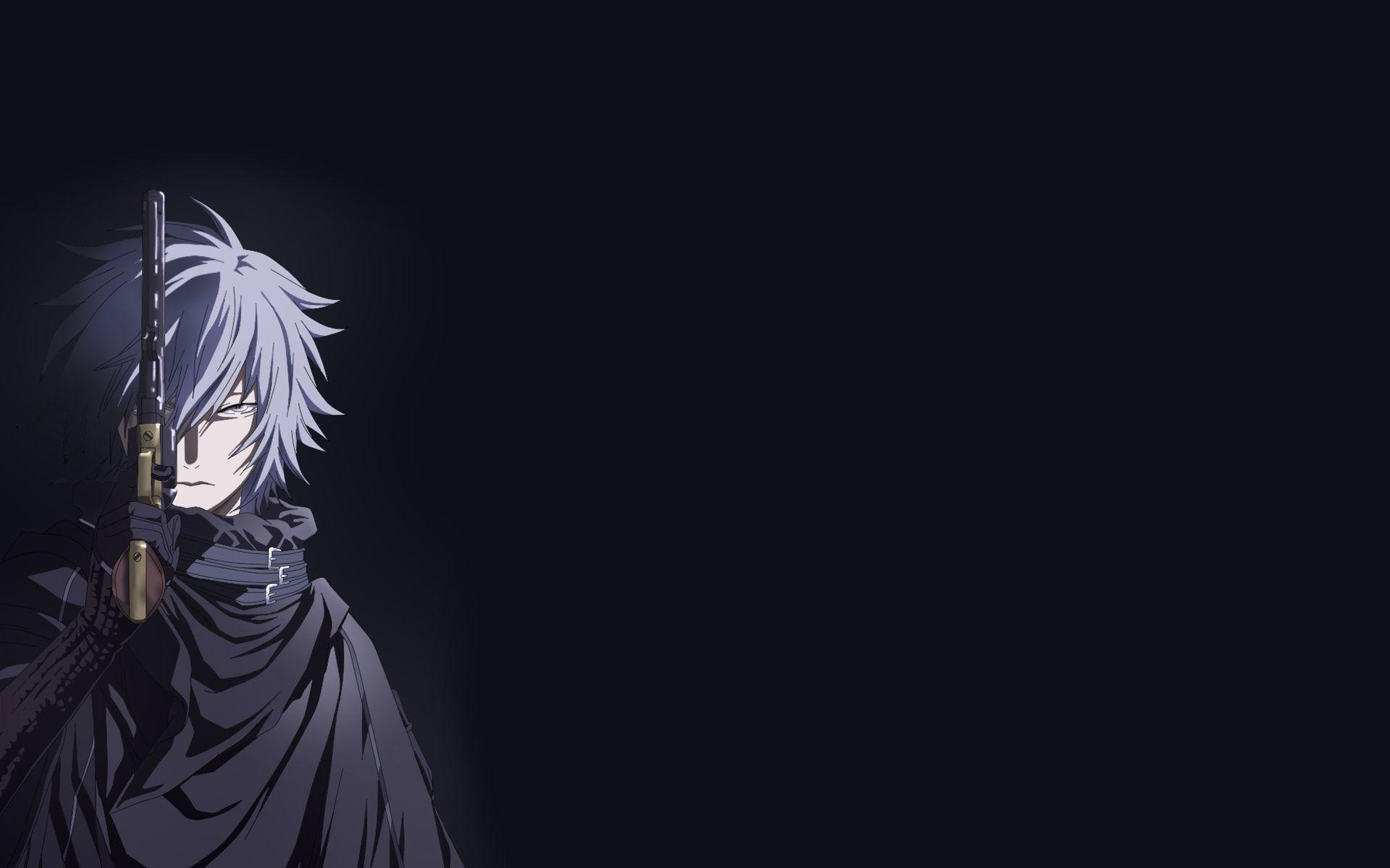 Black Anime Pc Wallpapers Wallpaper Cave