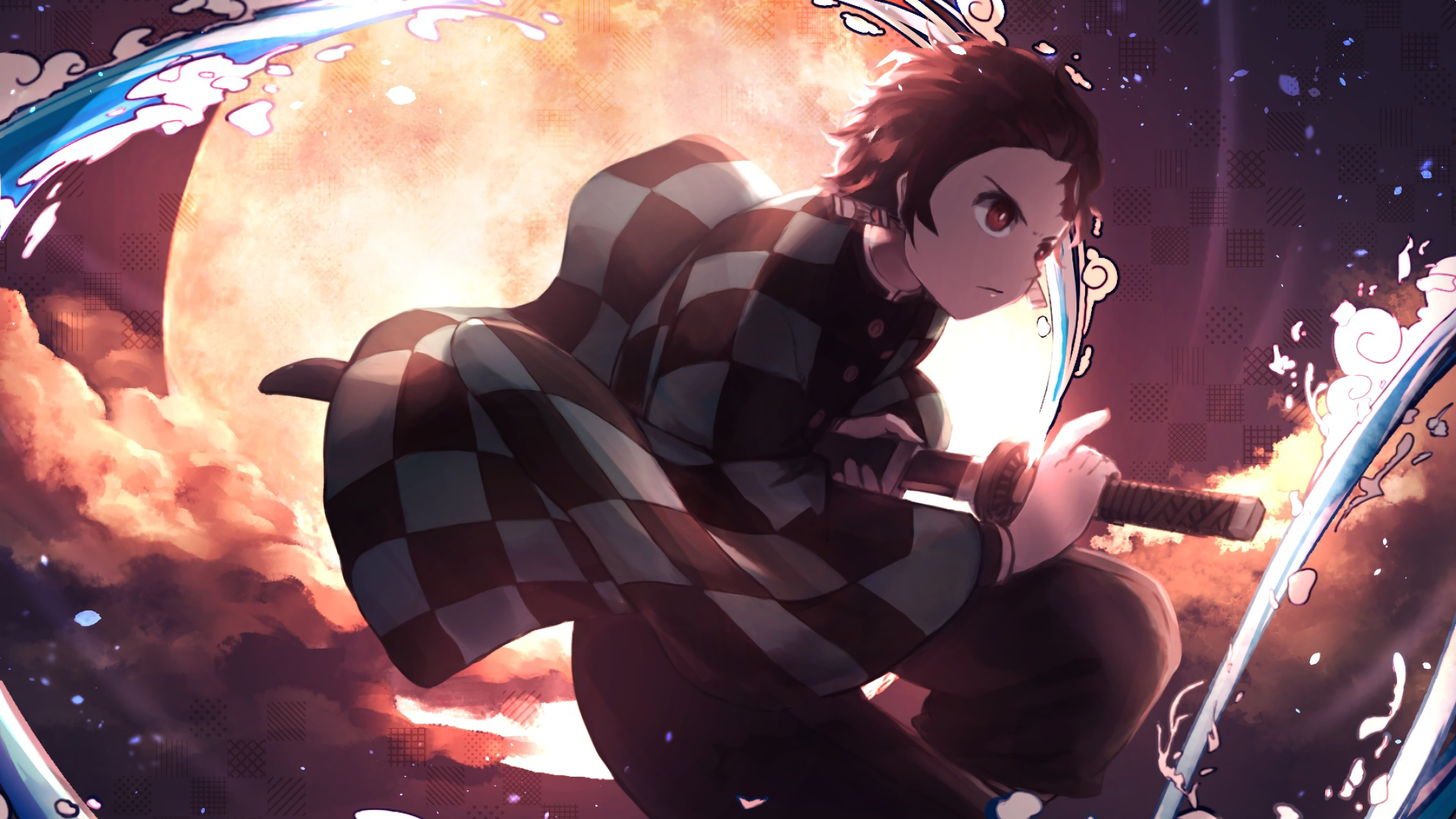 Tanjiro Kamado Kimetsu No Yaiba Wallpapers Wallpaper Cave