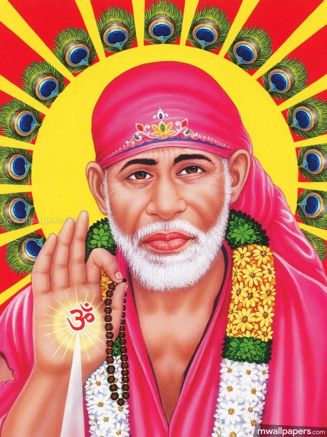 Full Hd God Sai Baba Mobile Wallpapers Wallpaper Cave
