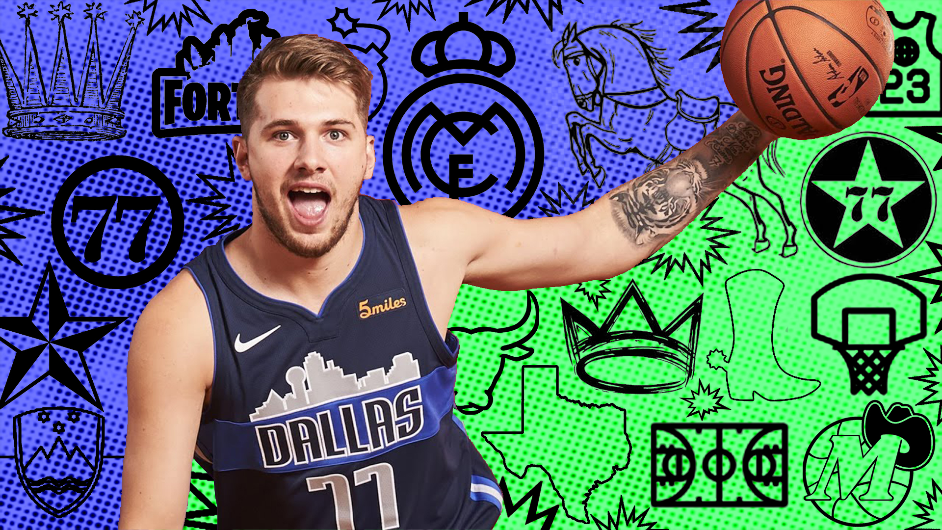 Luka Doncic Desktop Wallpapers Wallpaper Cave