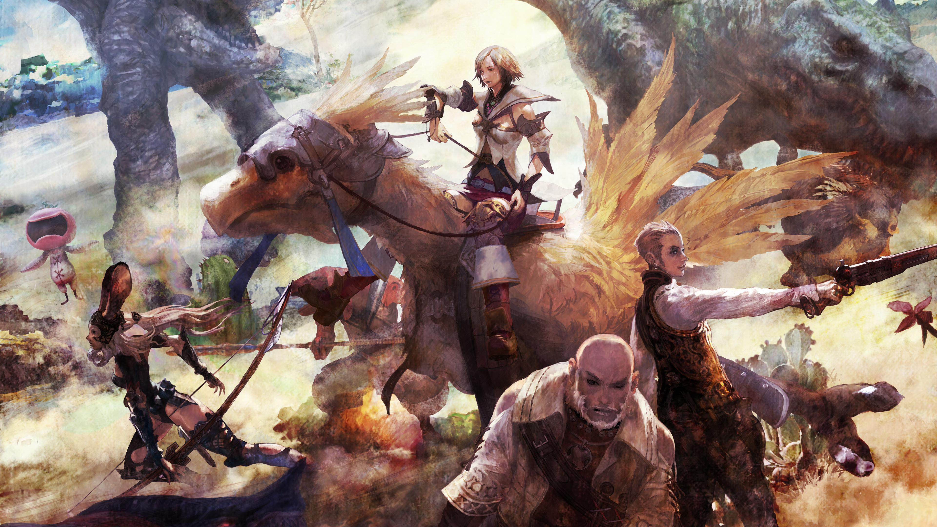 Final Fantasy Xii Desktop Wallpapers Wallpaper Cave