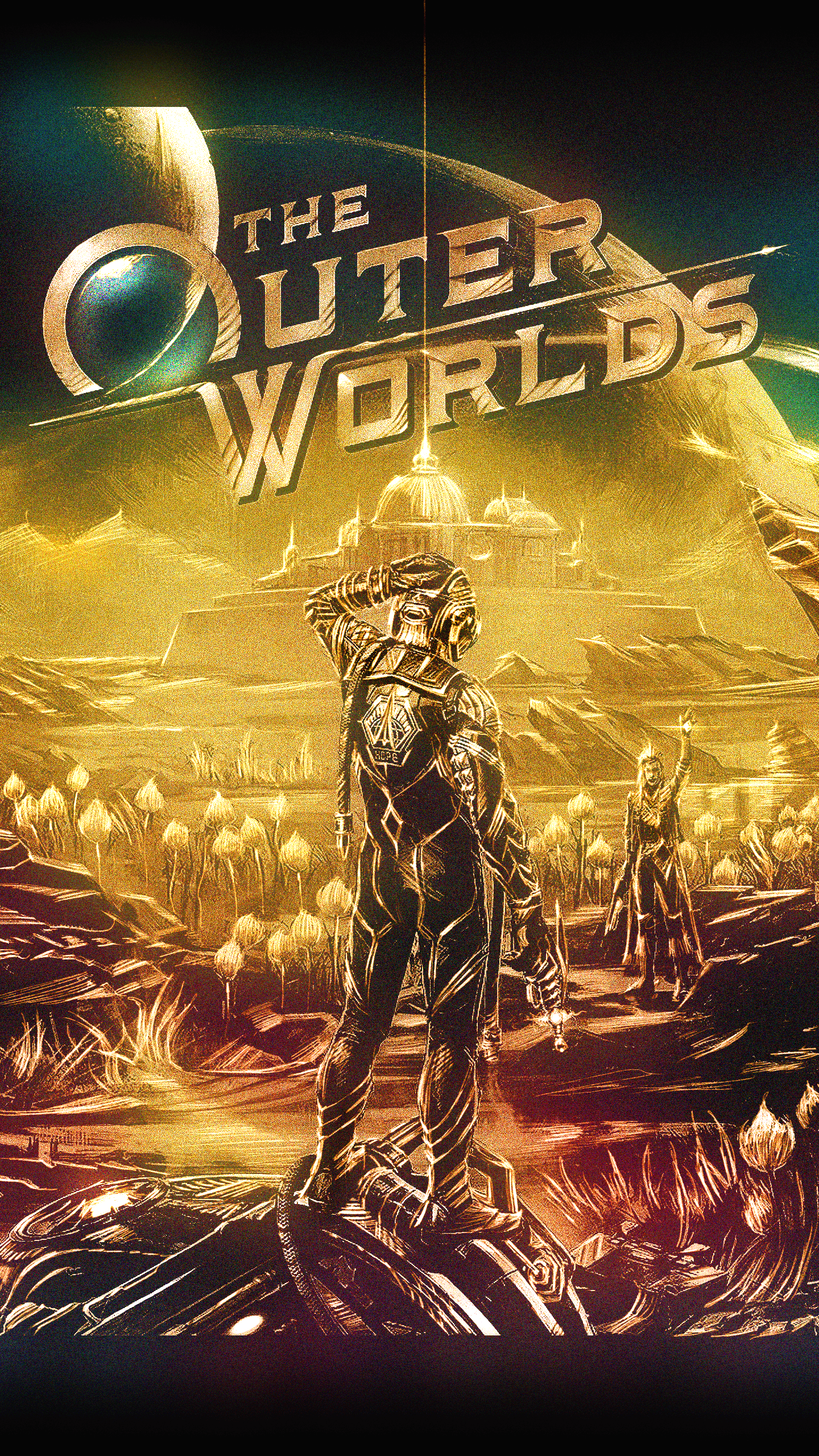 Outer Worlds Phone Wallpapers - Wallpaper Cave