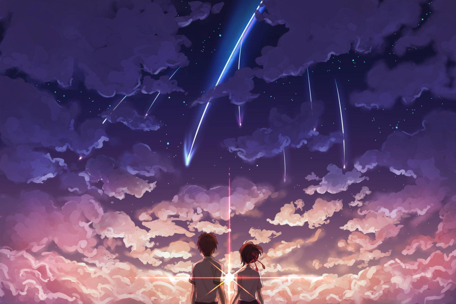 Your Name Anime Desktop Wallpapers Wallpaper Cave