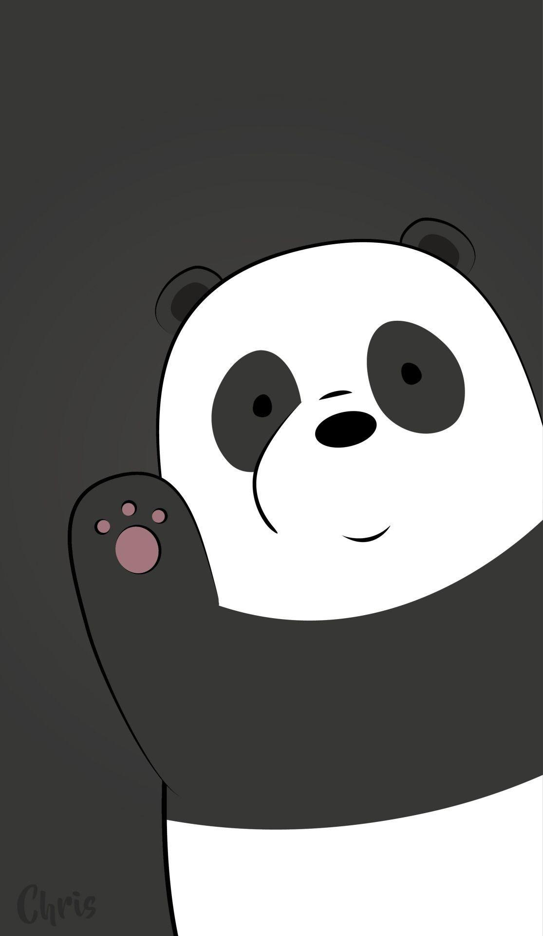 Panda We Bare Bears Wallpapers Wallpaper Cave