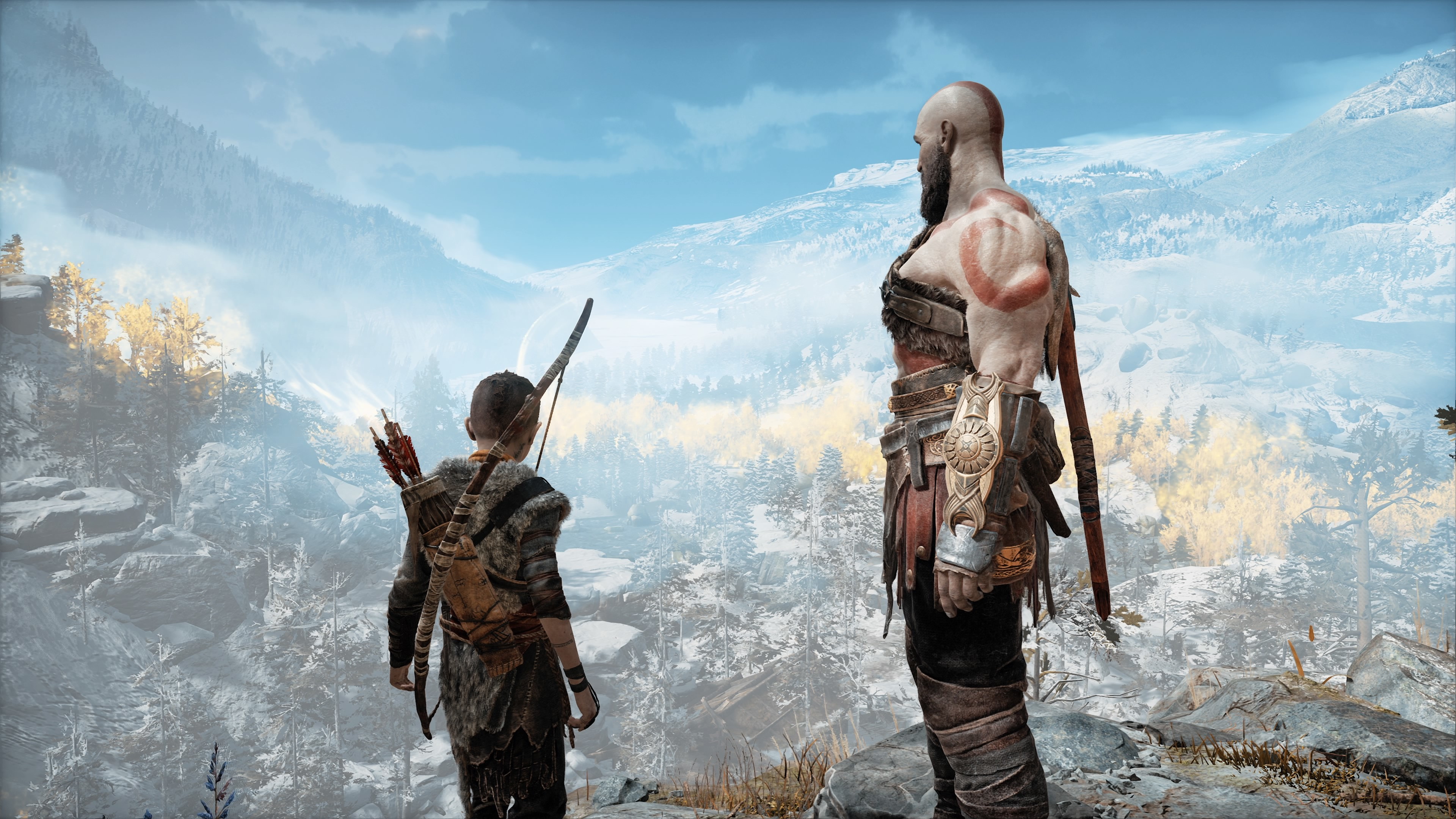 God Of War 4 4k Desktop Wallpapers Wallpaper Cave