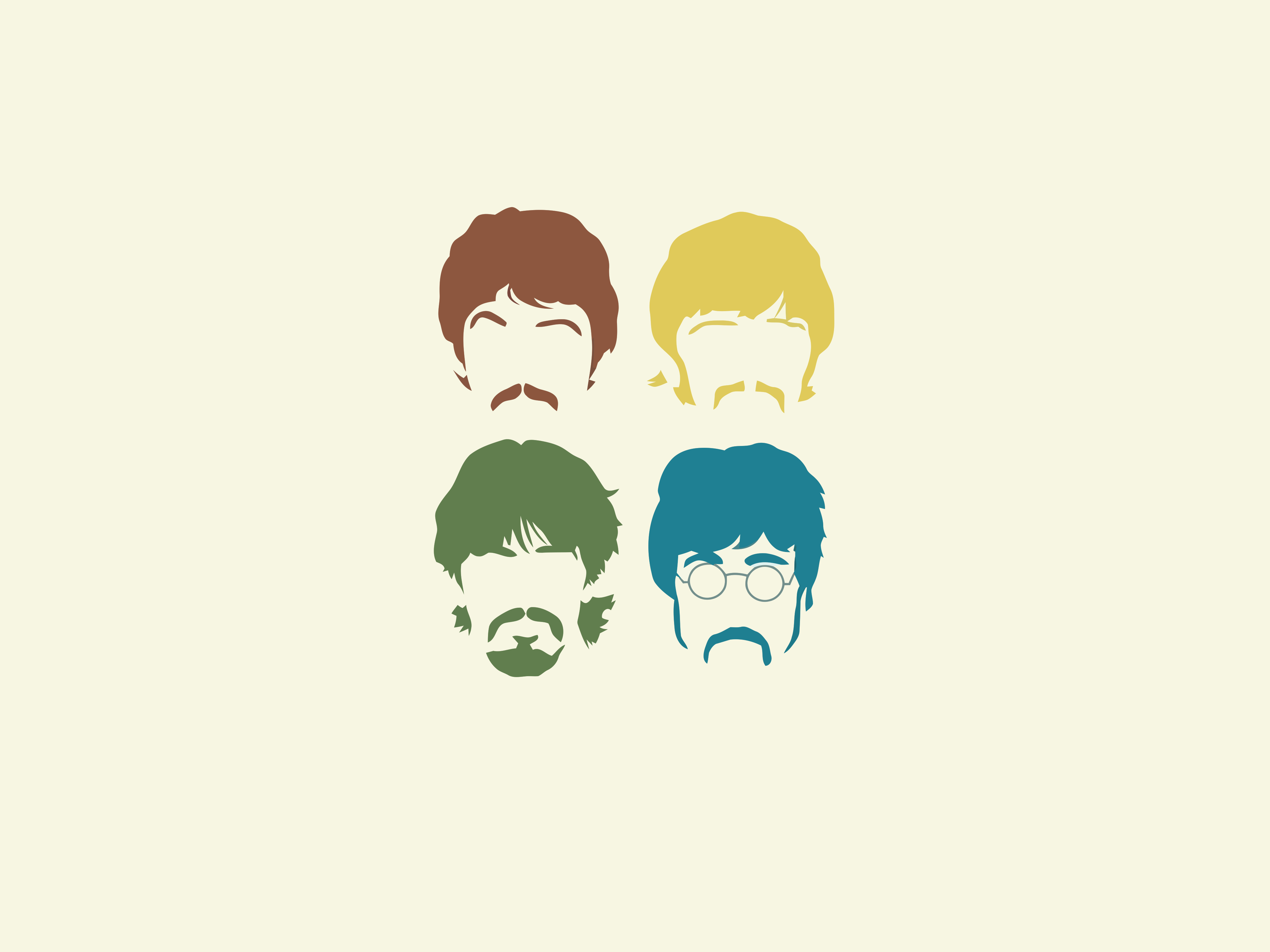 The Beatles Minimalist Wallpapers Wallpaper Cave