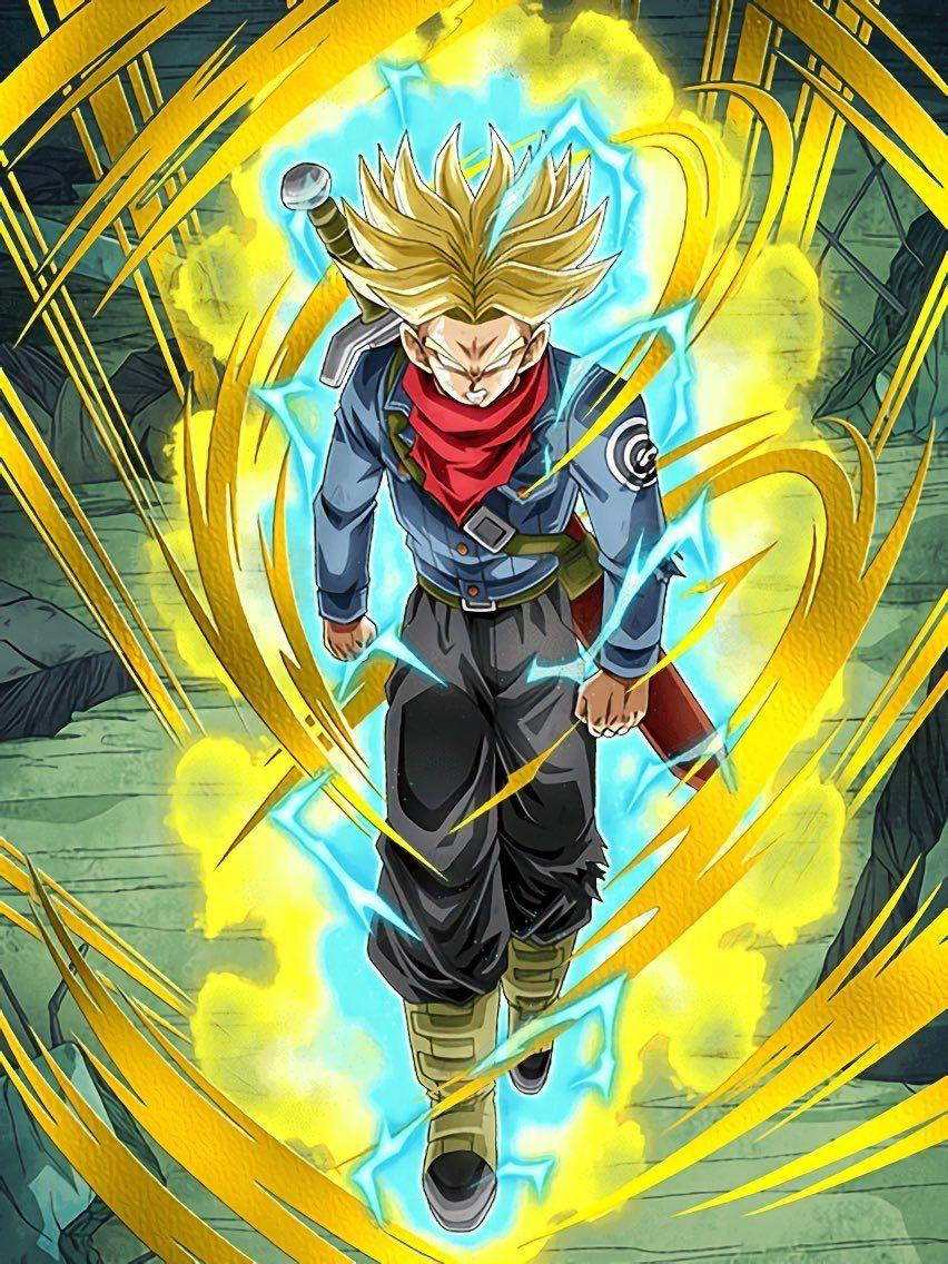 Dragon Ball Z Trunks Iphone Wallpapers Wallpaper Cave