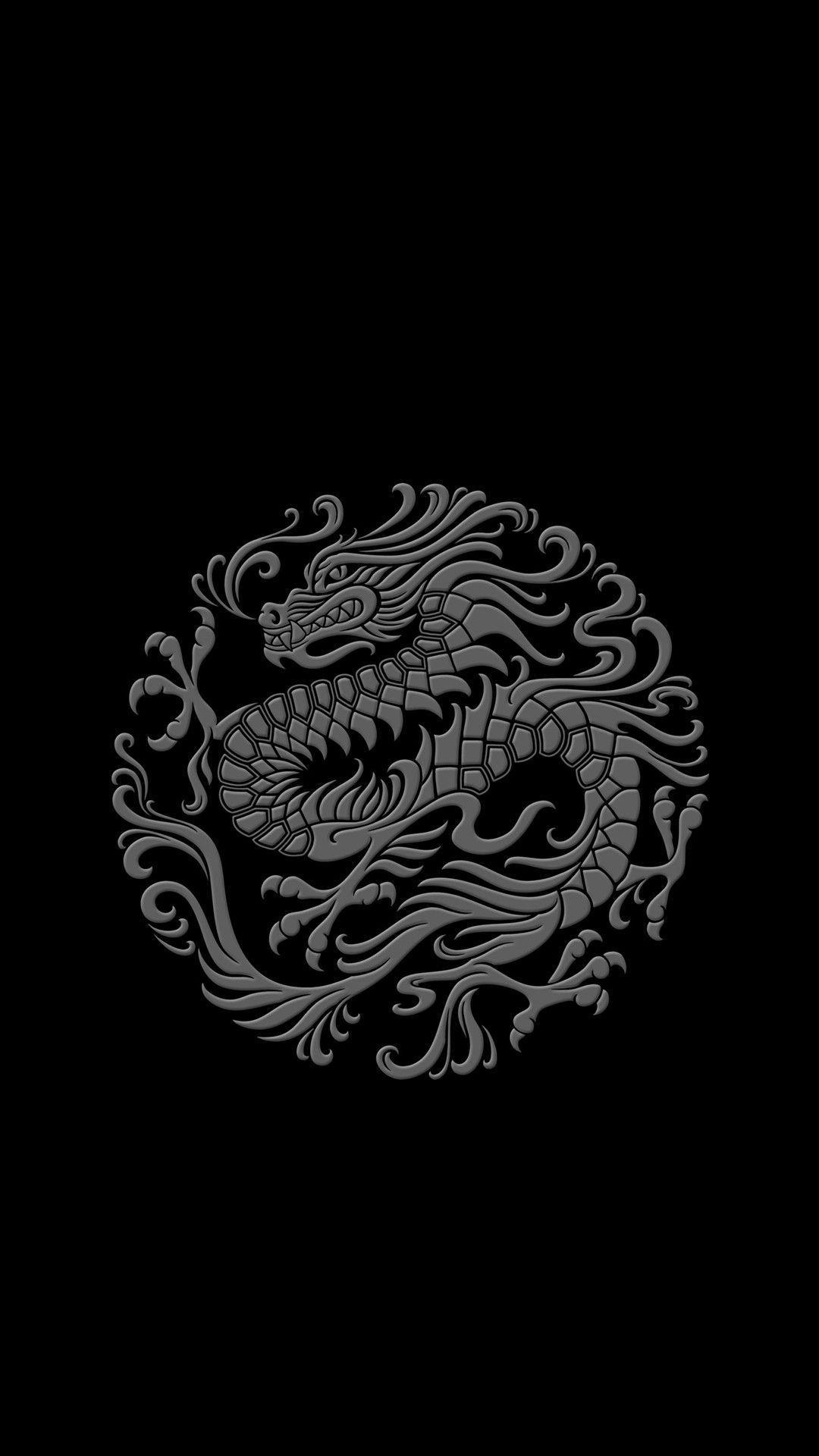 Chinese Dark Dragon Wallpapers Wallpaper Cave