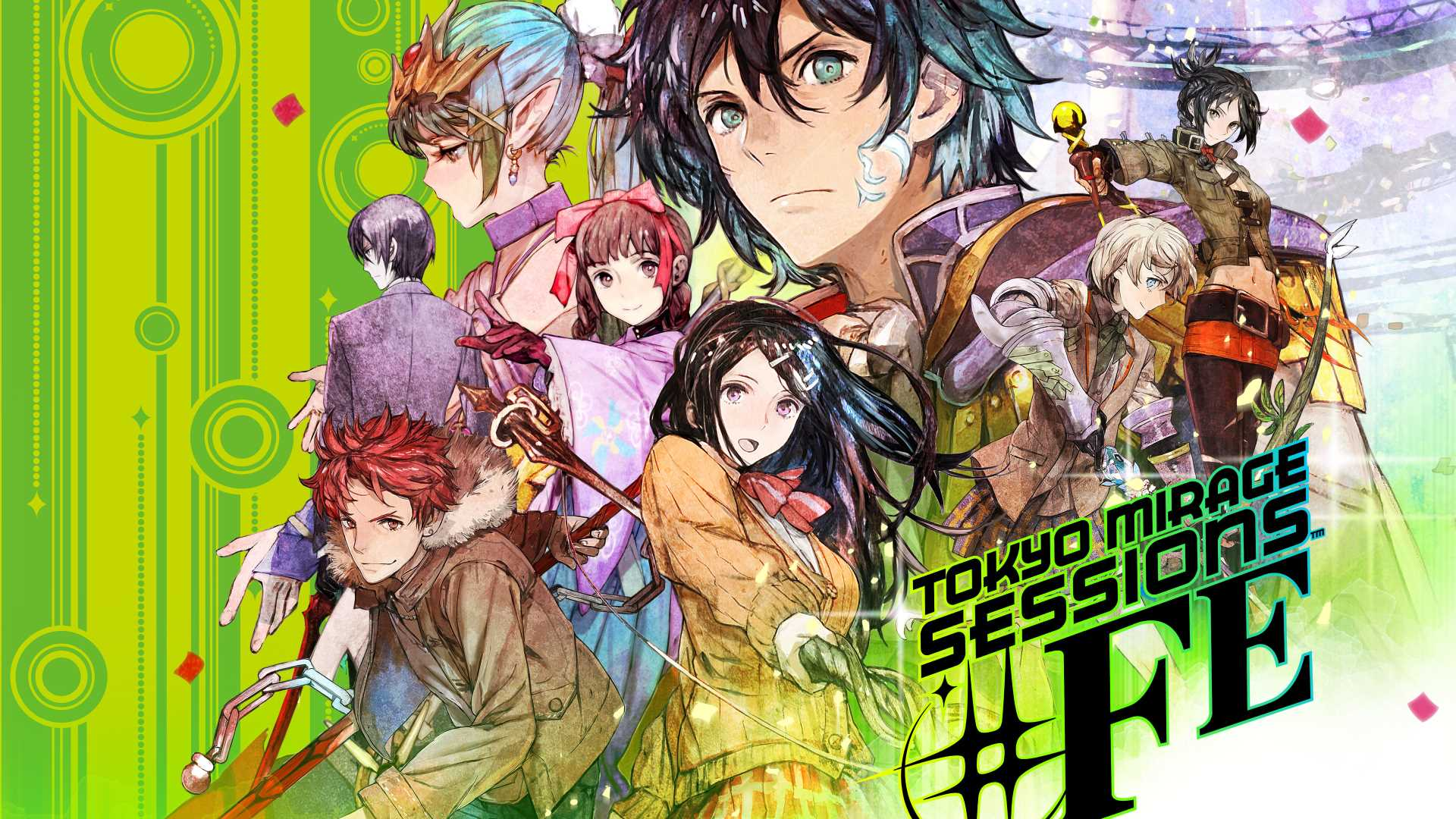 Tokyo Mirage Sessions Fe Encore Wallpapers Wallpaper Cave
