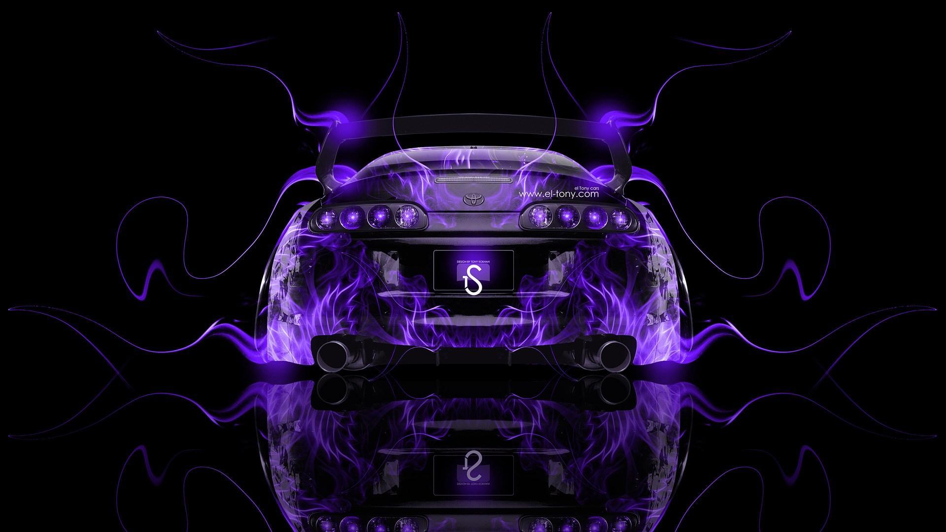 Purple Toyota Supra Wallpapers - Wallpaper Cave