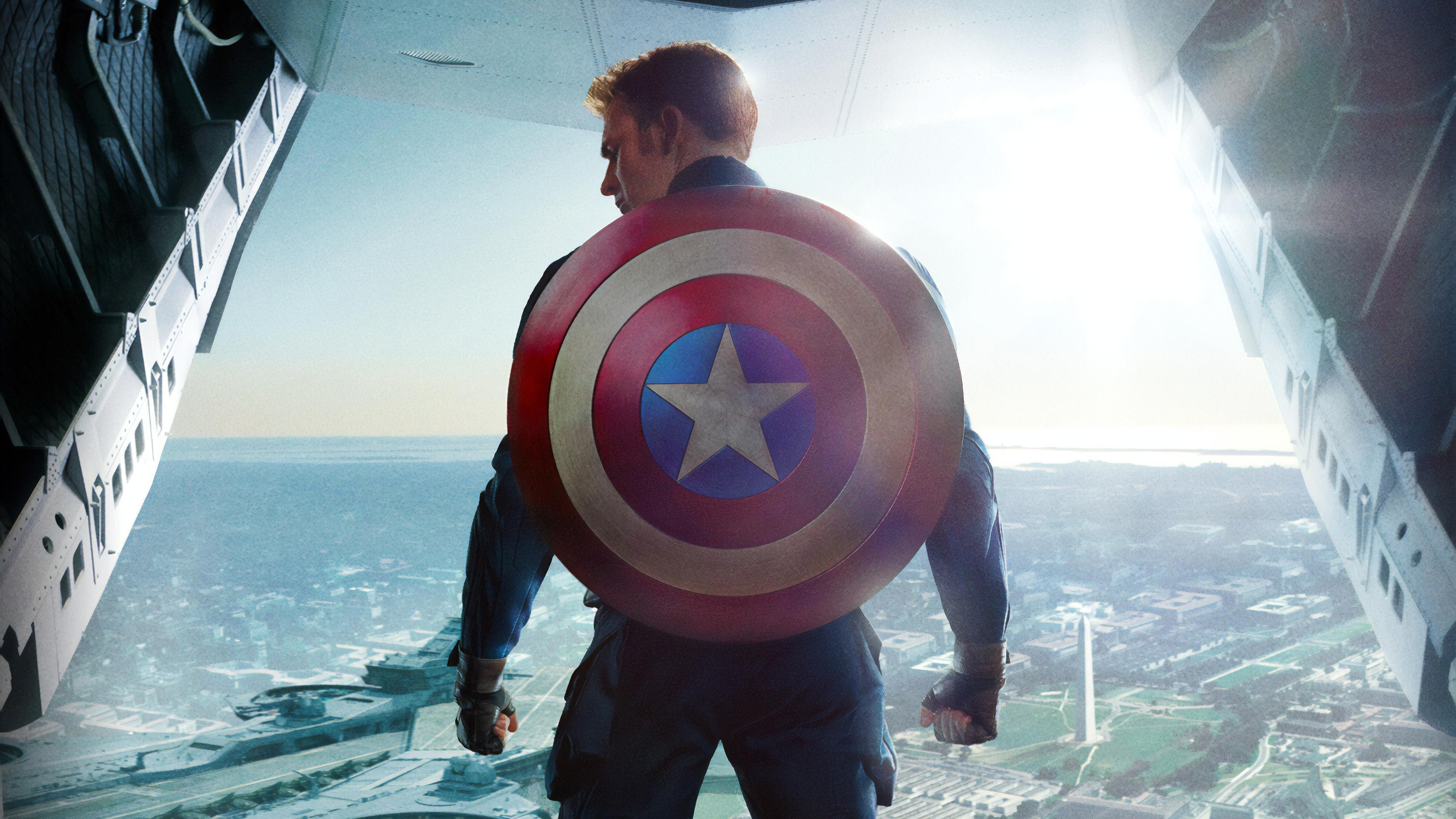 Captain America Desktop Wallpapers - Wallpaper Cave