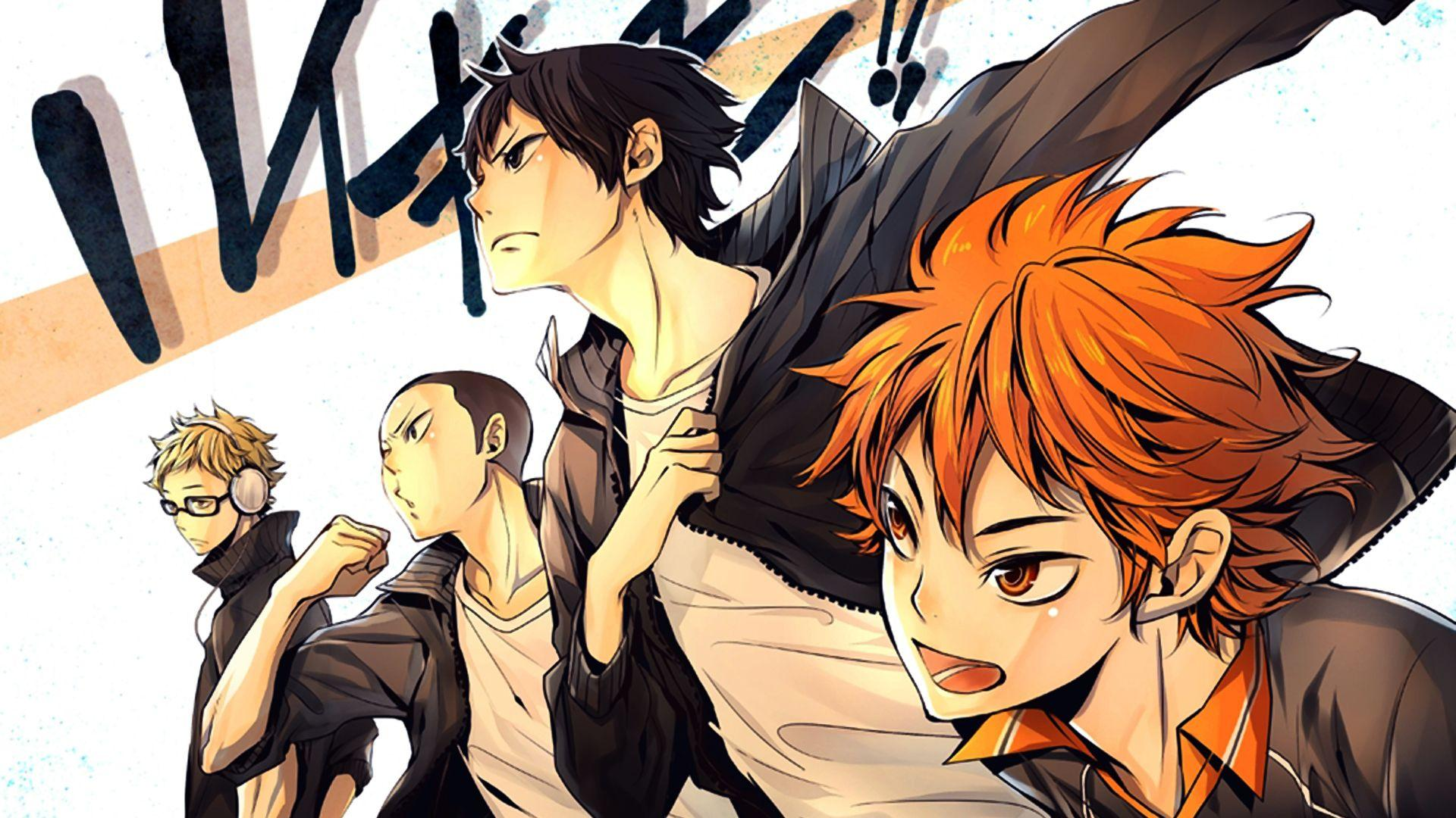 Cool Anime Haikyuu Wallpapers Wallpaper Cave