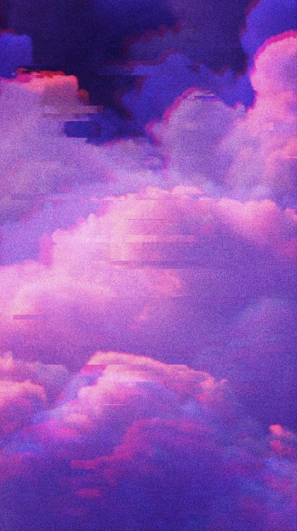 Free download free aesthetic glitch cloud backgrounds