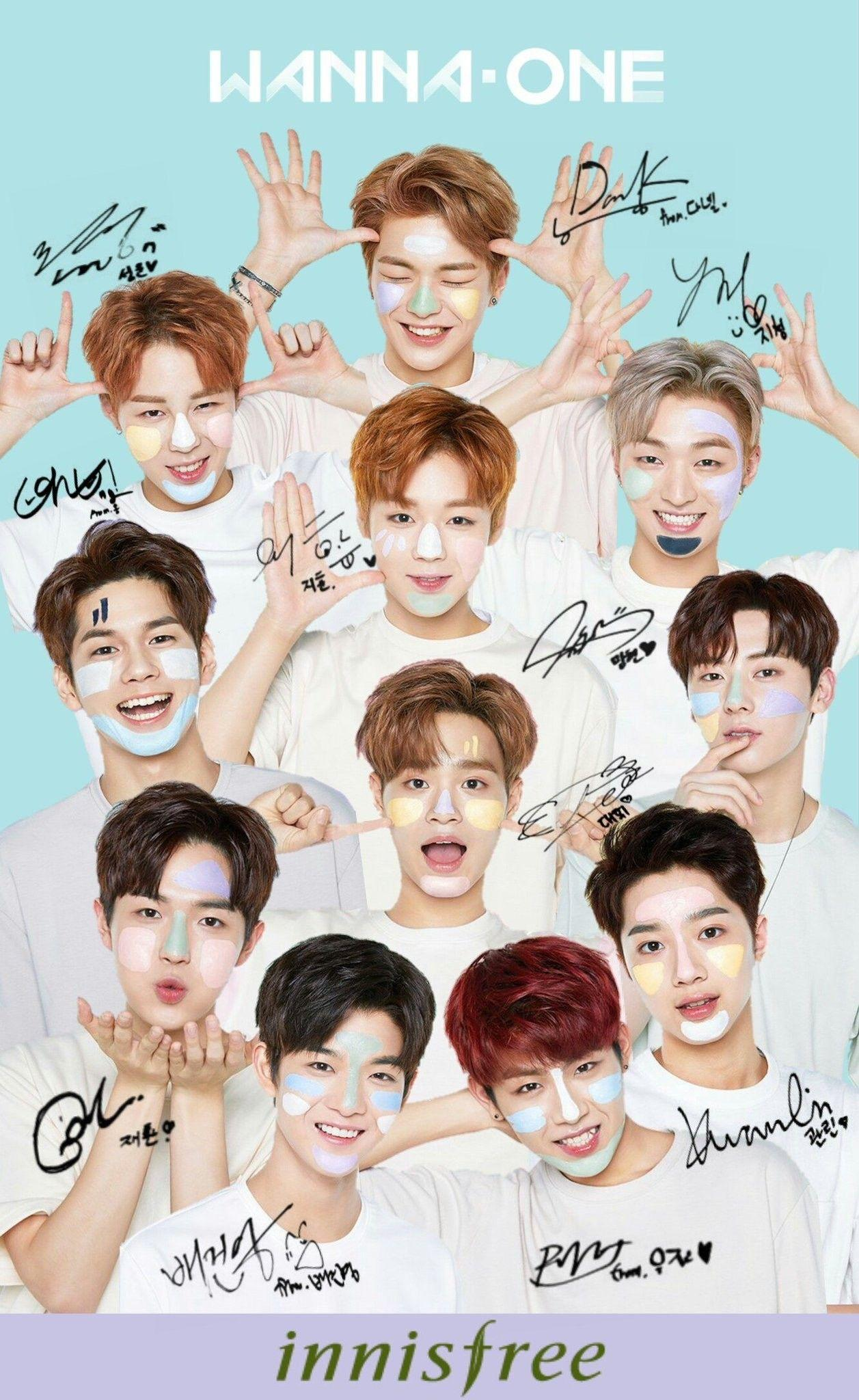 Aesthetic Wanna One Wallpapers Wallpaper Cave